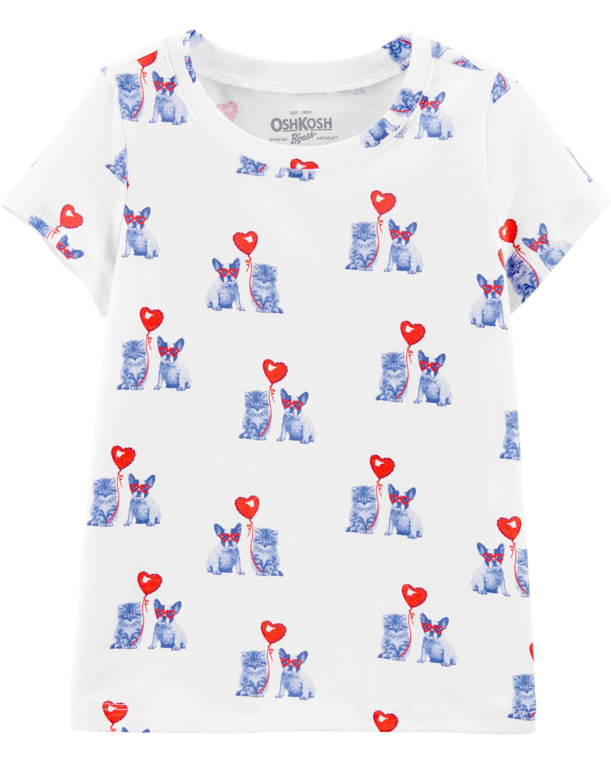 *Clearance*  Cat & Dog Valentine's Day Tee