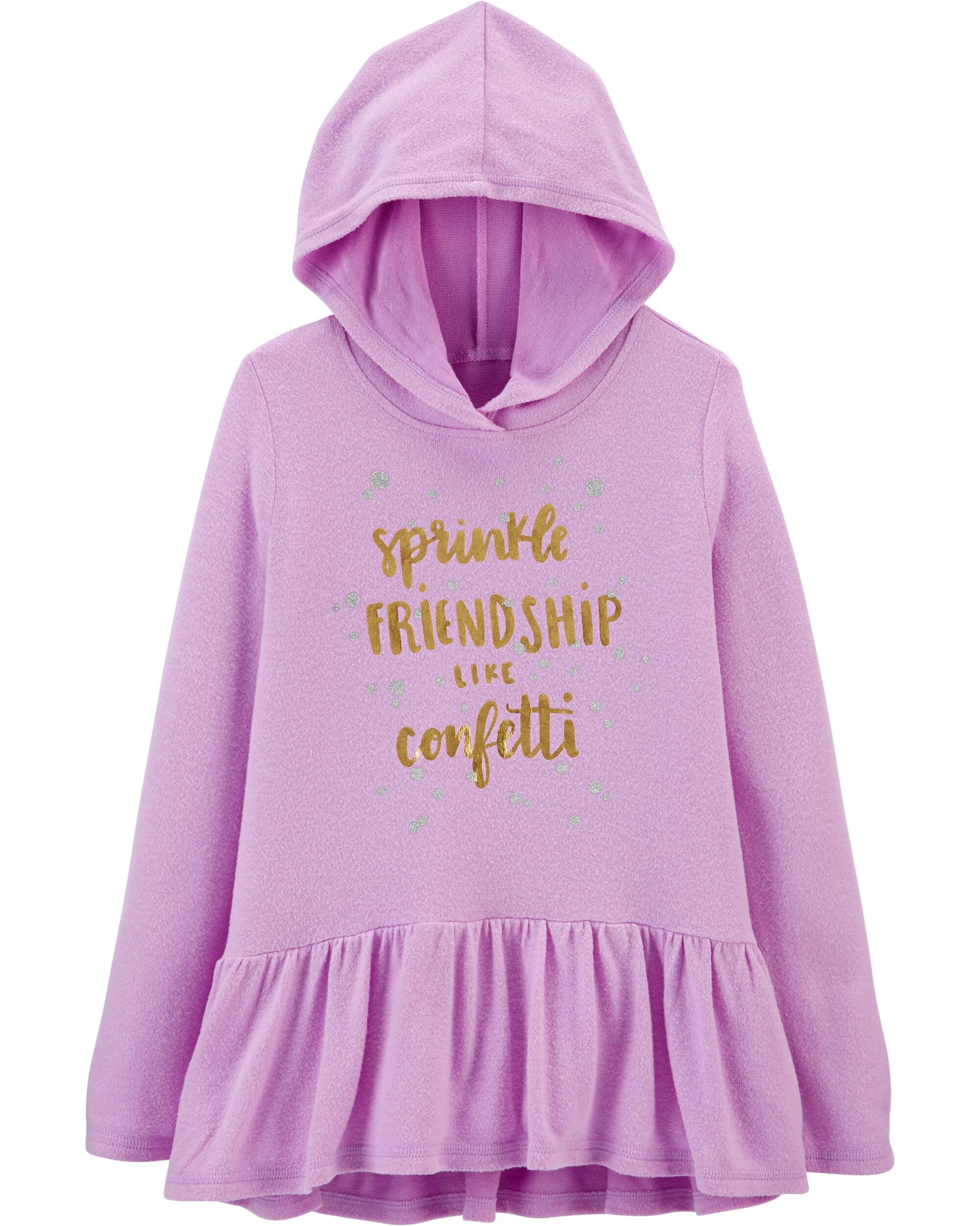 *Clearance*  Friendship Hooded Tunic