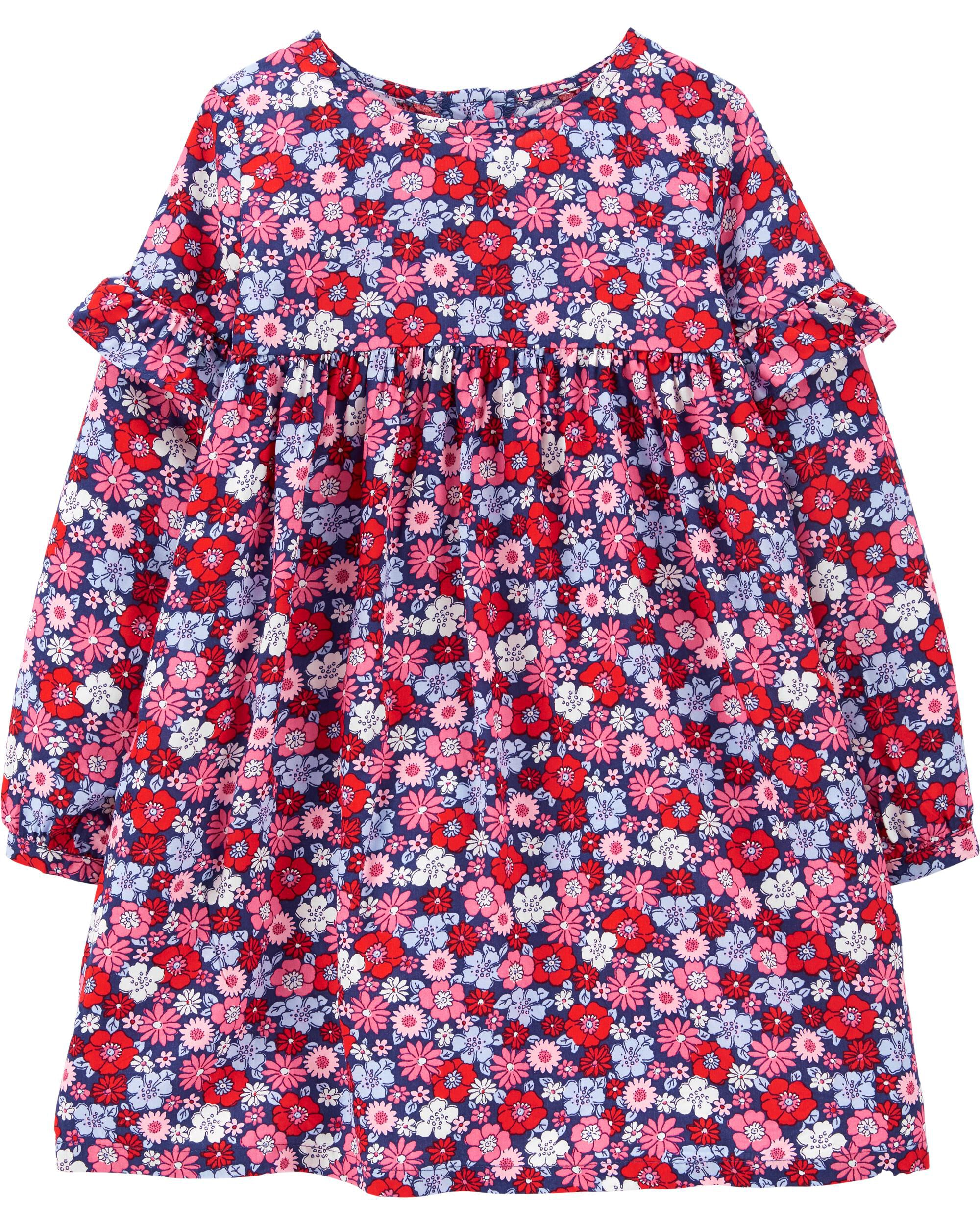 *Clearance*  Floral Drapey Dress