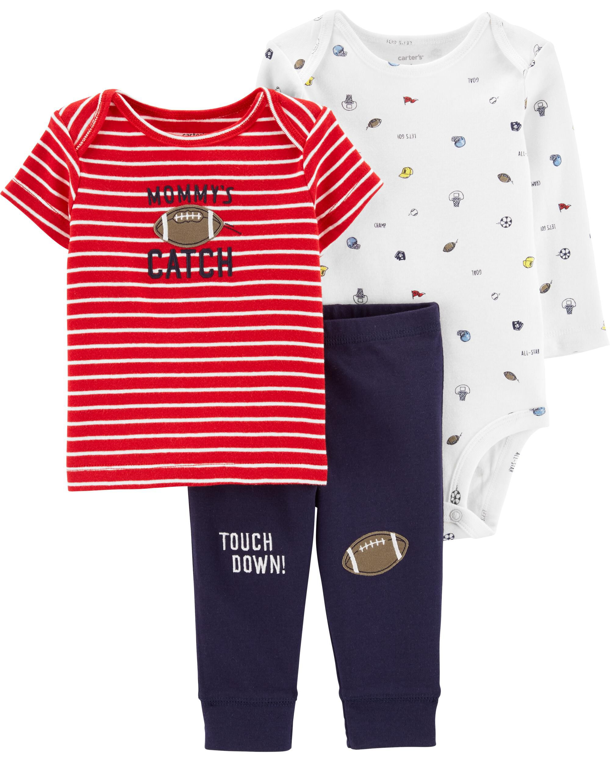 *Clearance*  3-Piece Sports Little Character Set