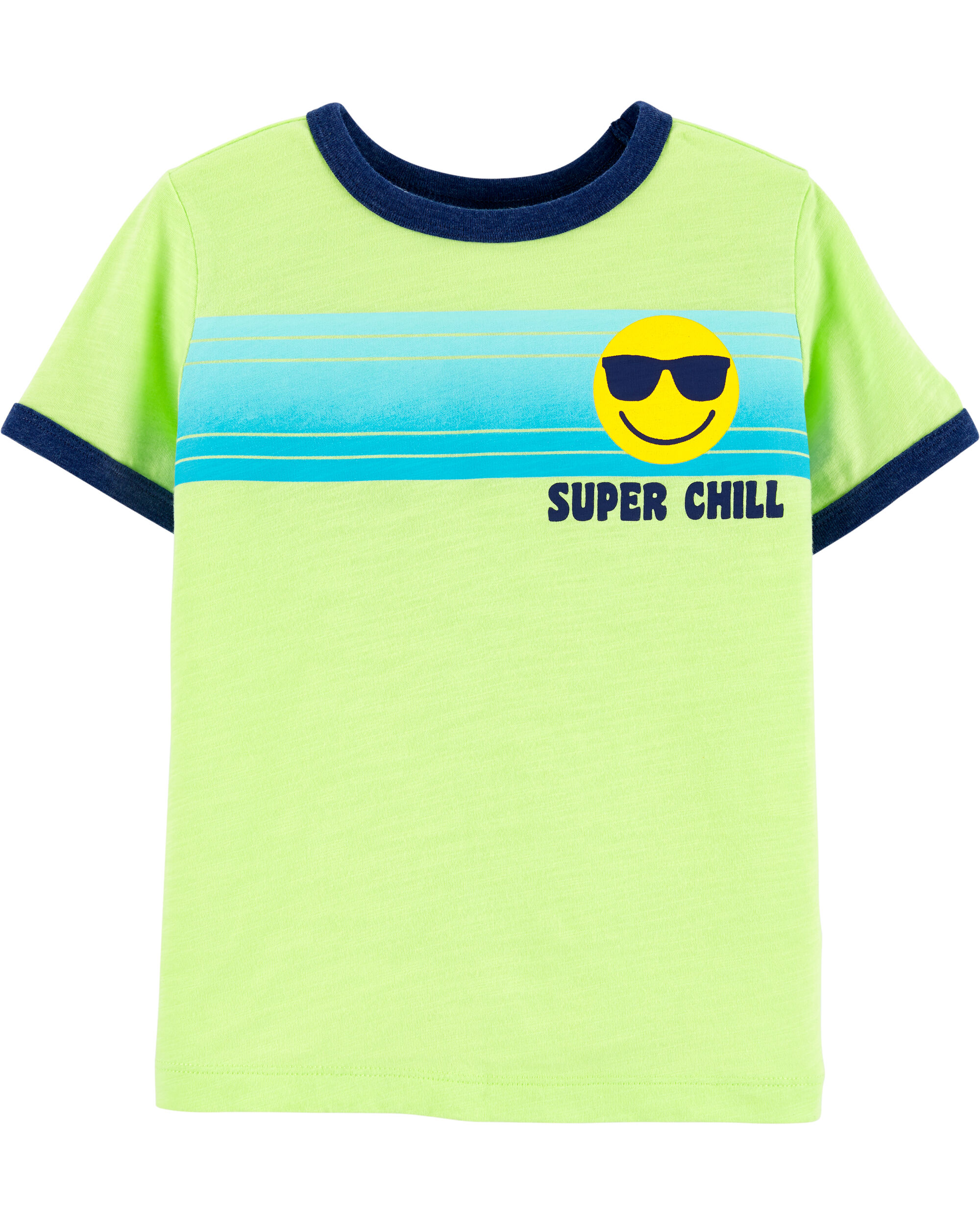 *Clearance*  Super Chill Striped Tee