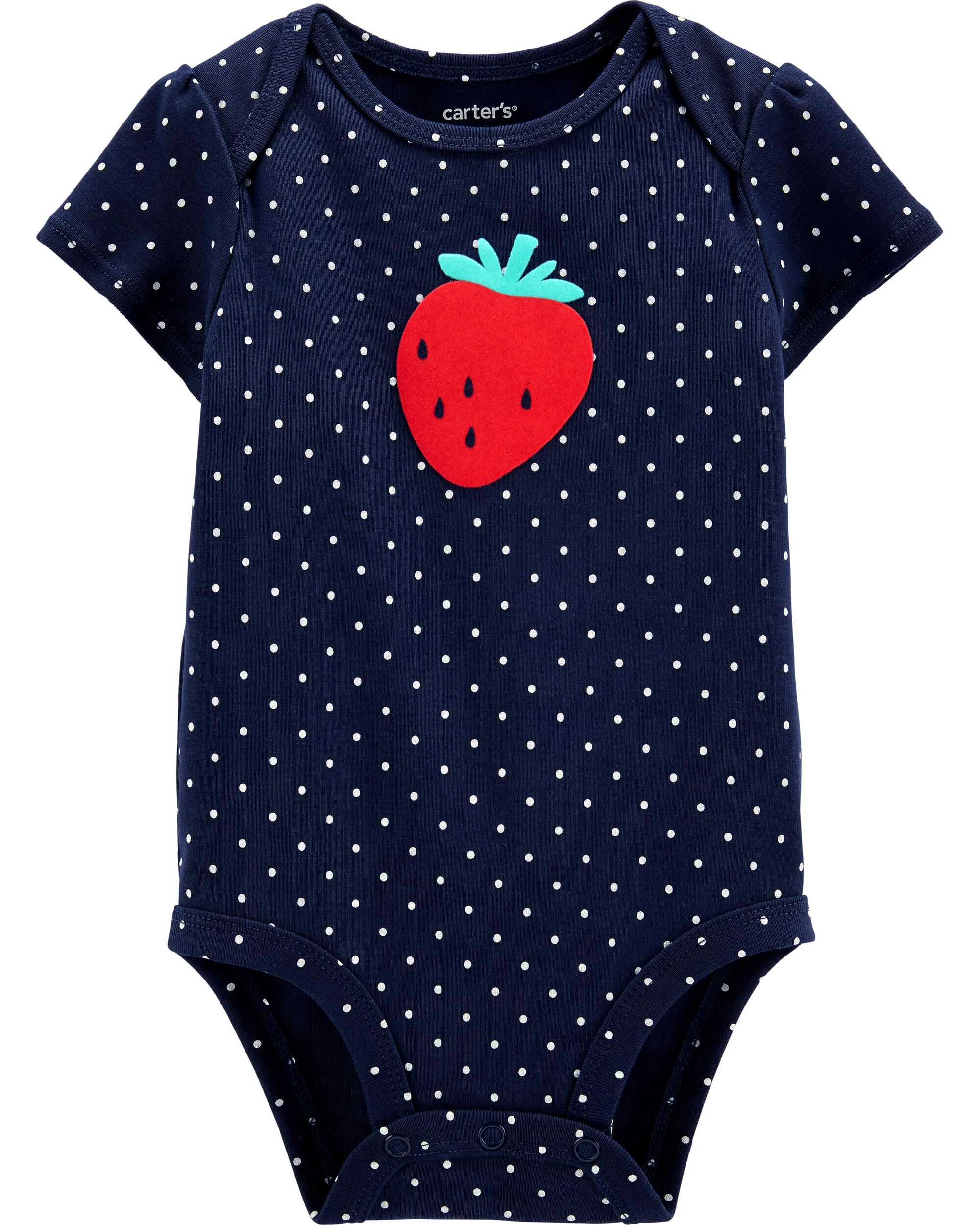 *Clearance*  Strawberry Collectible Bodysuit
