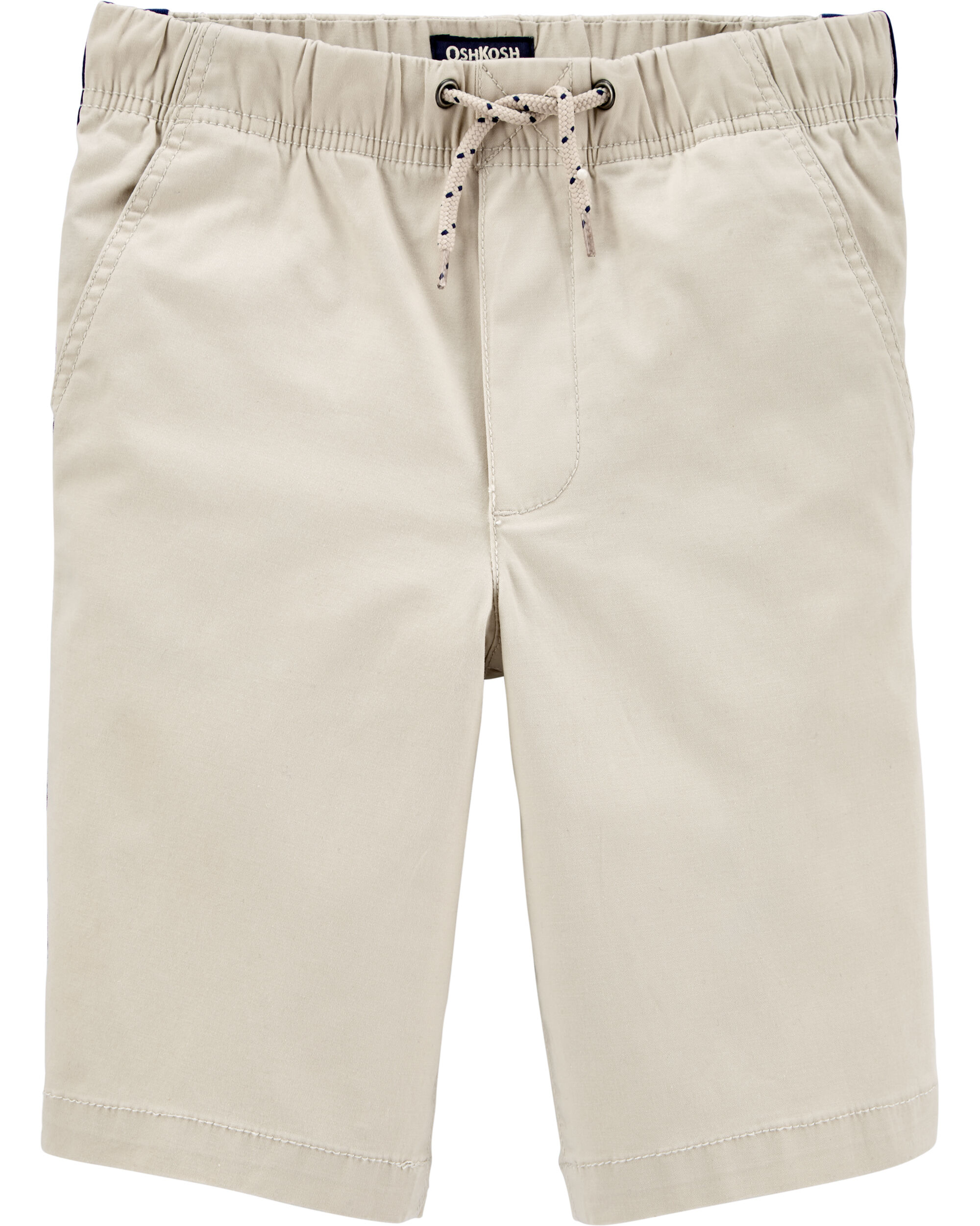 *Clearance*  Side Stripe Pull-On Shorts