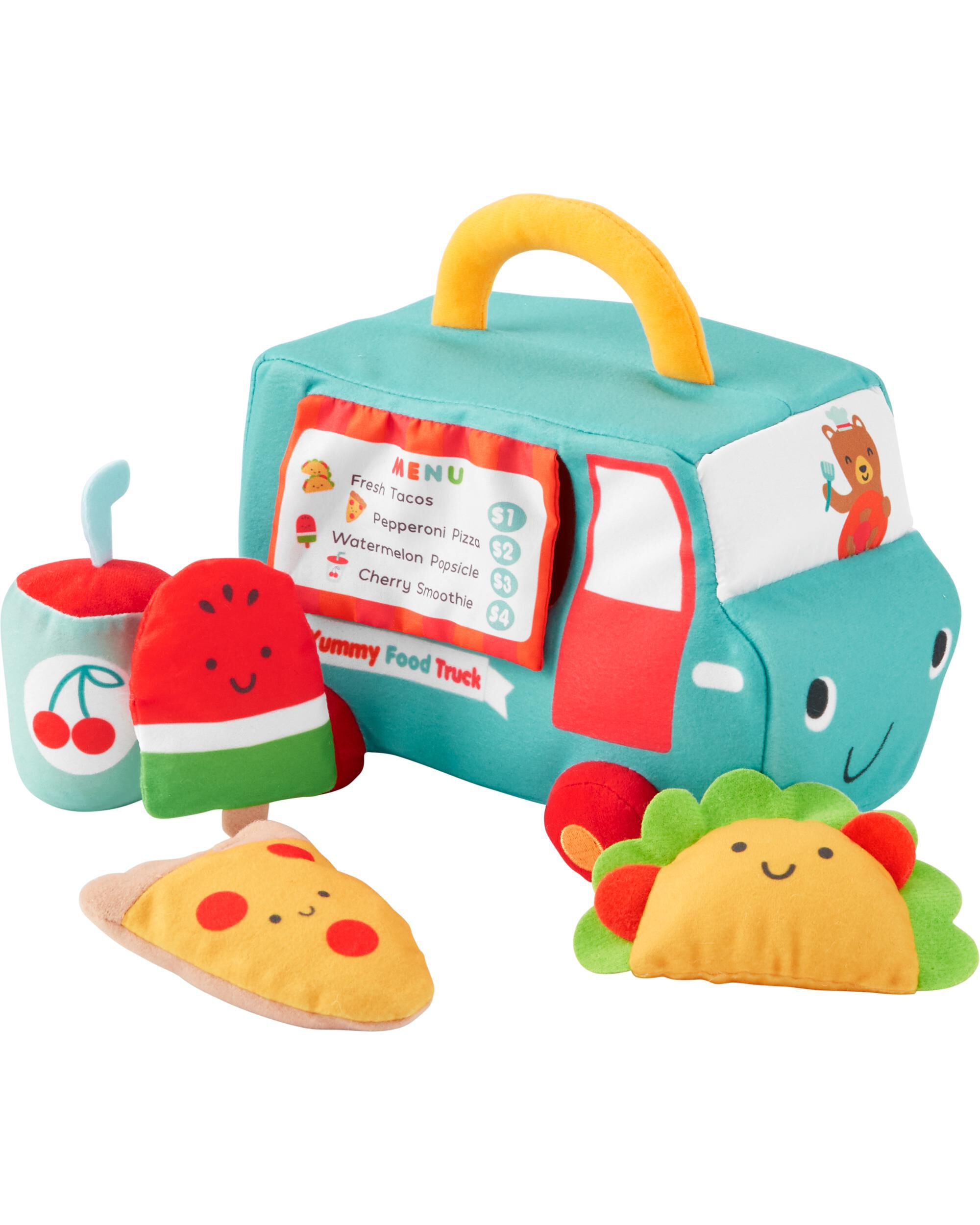 *Clearance*  Plush Food Truck Activity