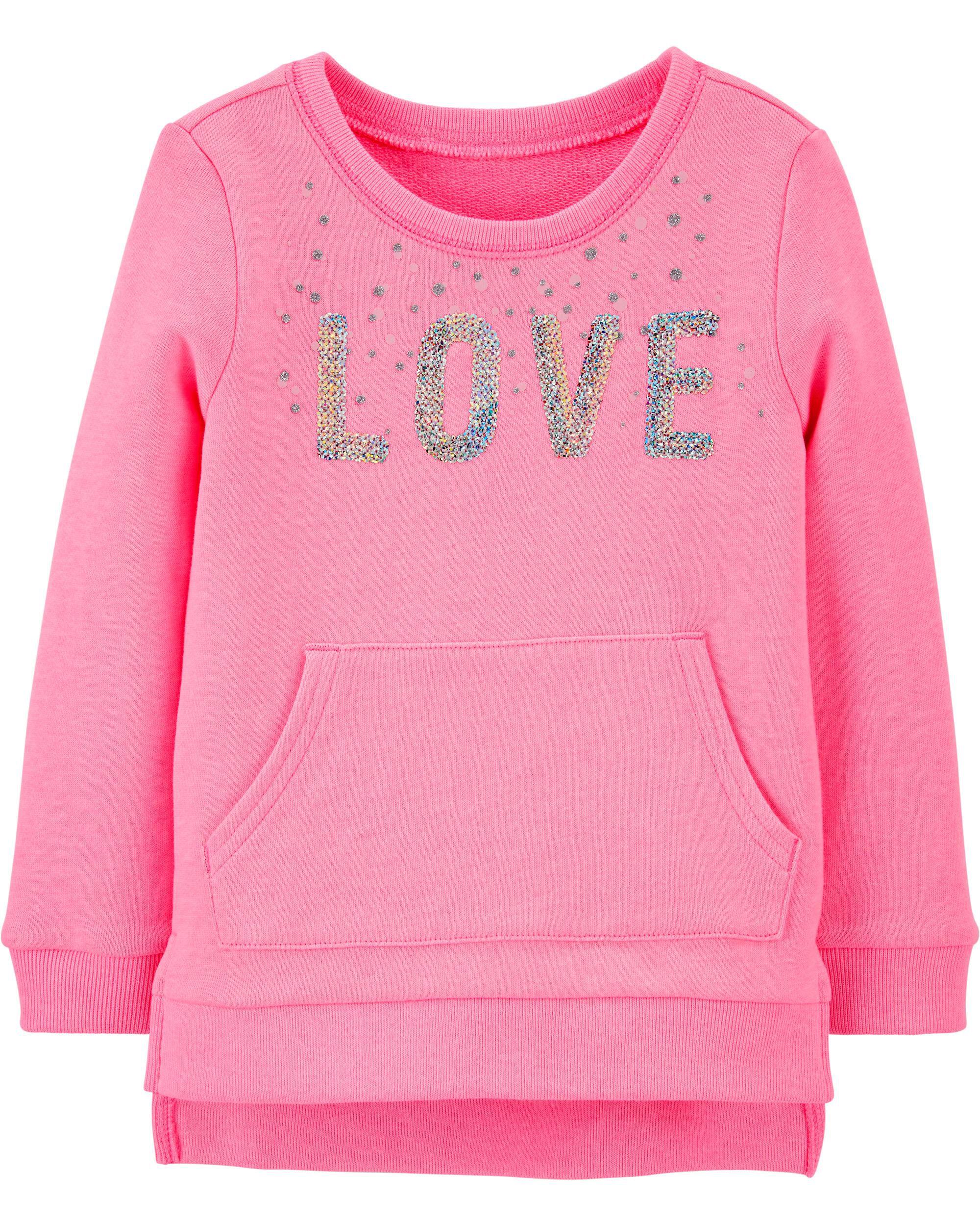 *Clearance*  Sequin Sweatshirt Tunic