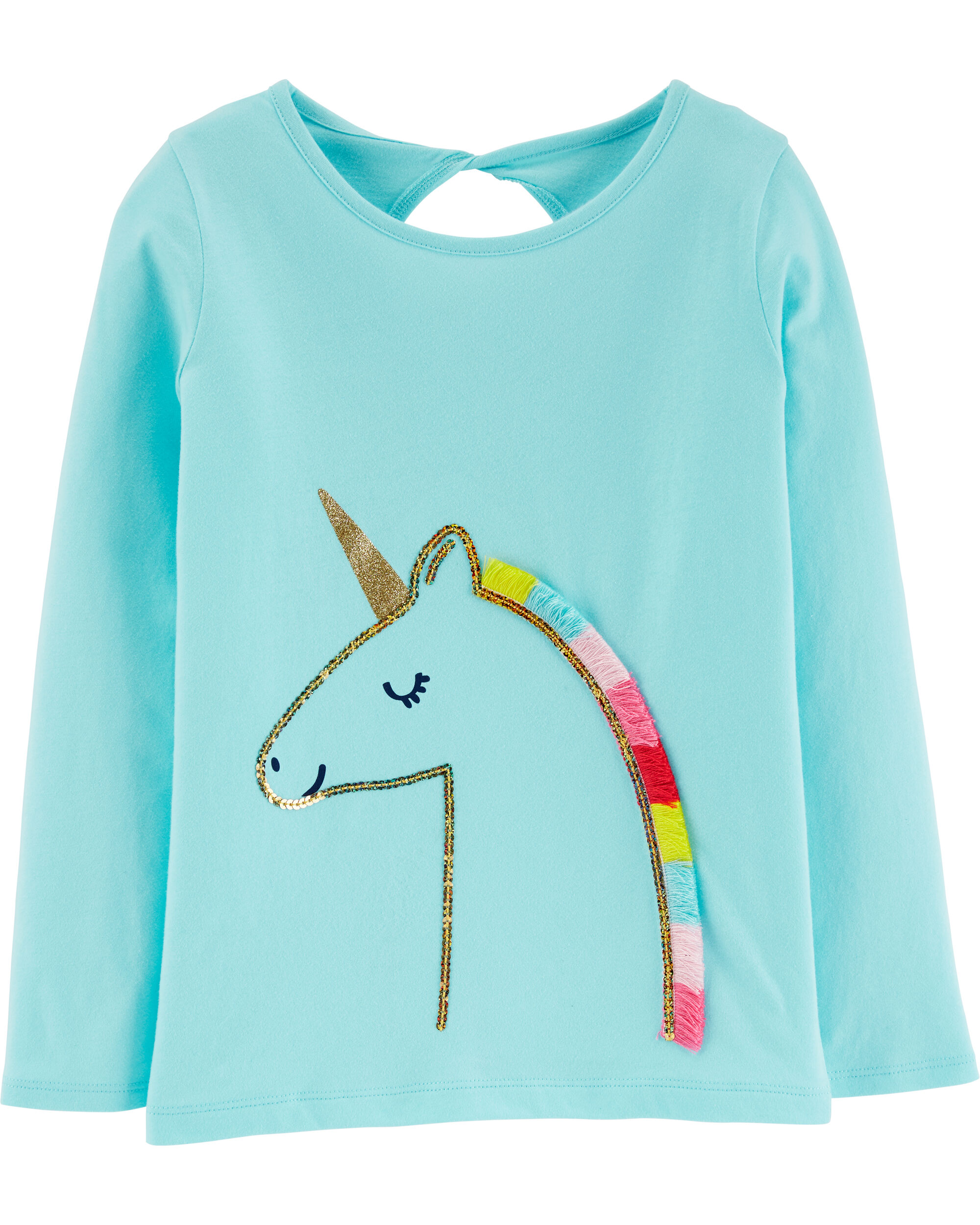 *Clearance*  Sequin Unicorn Jersey Tee