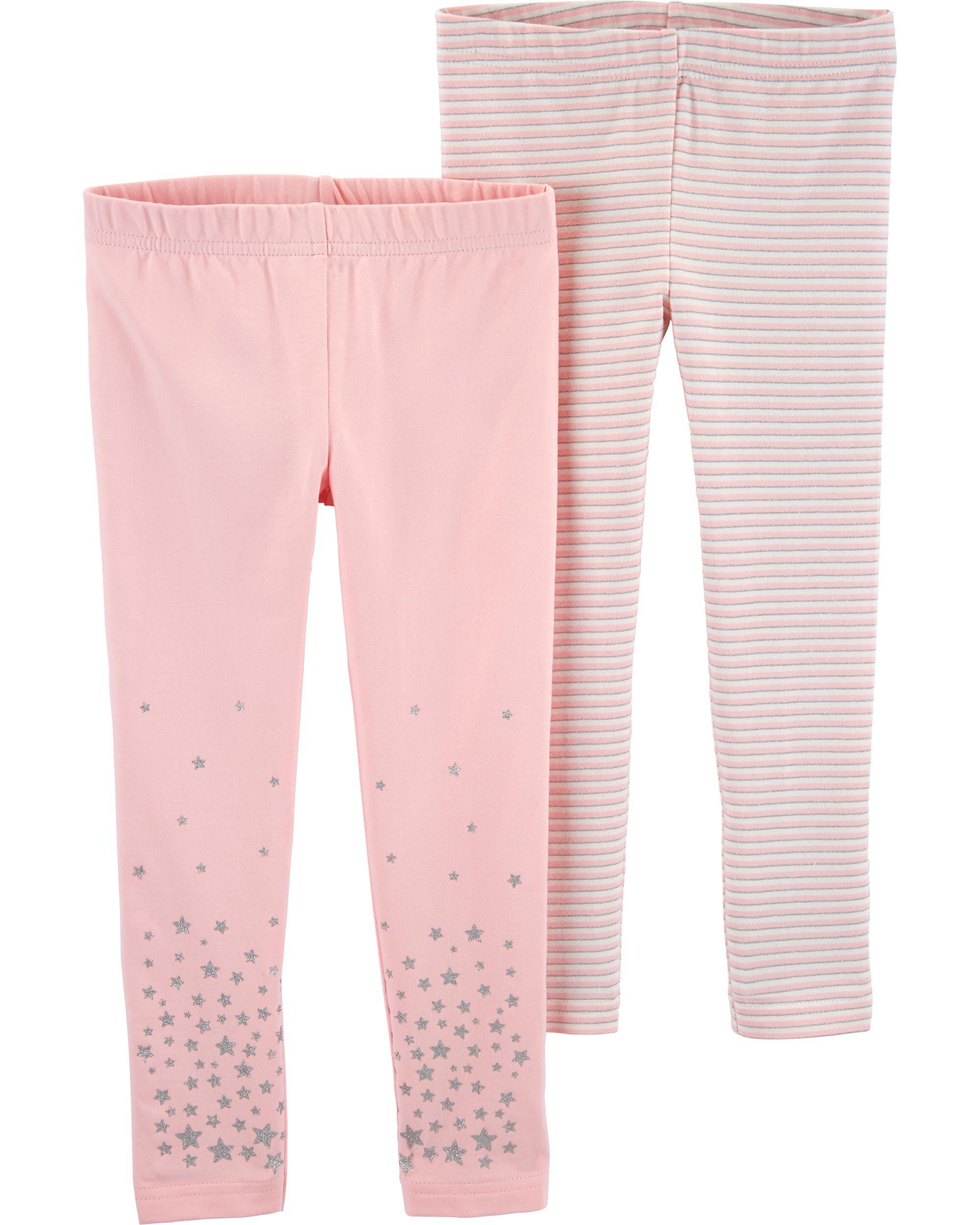 2-Pack Stars & Striped Leggings