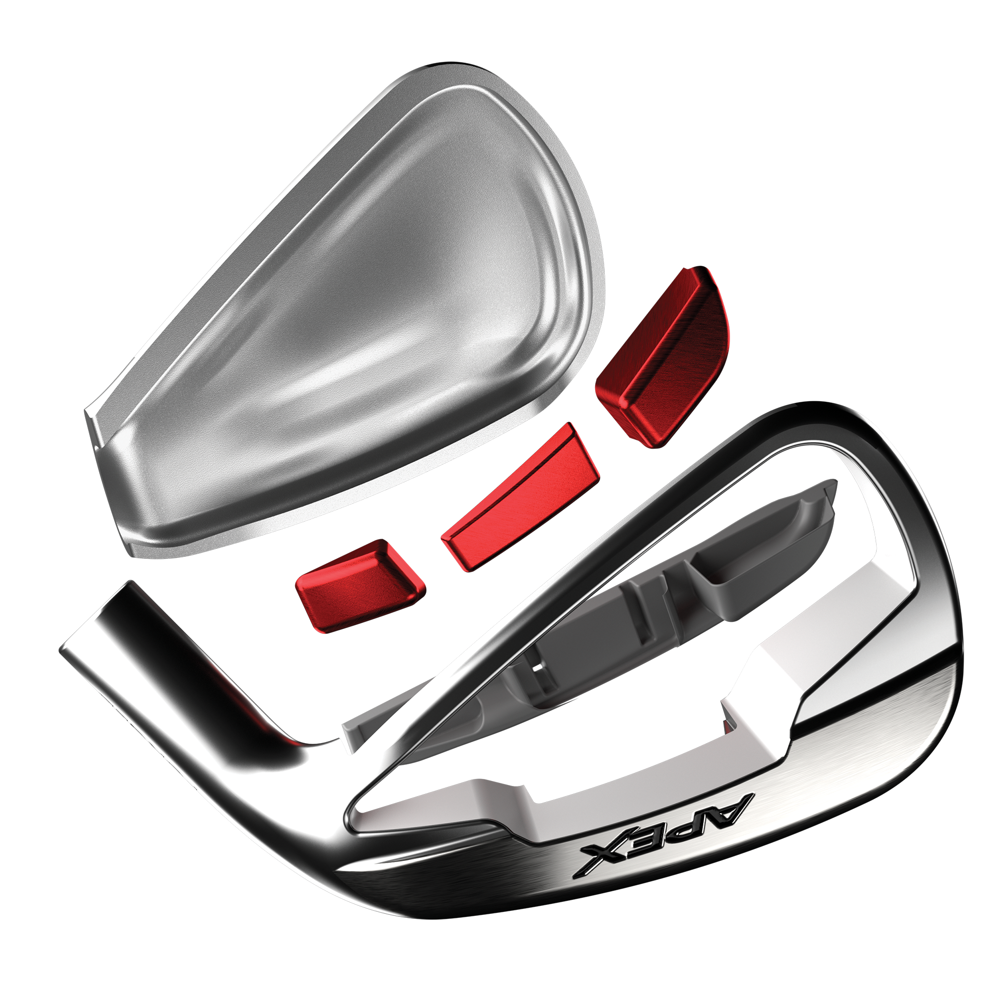 Apex DCB Irons illustration