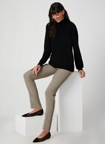 Mock Neck Sweater, Black,  sweater, knit, mock neck, long sleeves, fall 2019, winter 2019