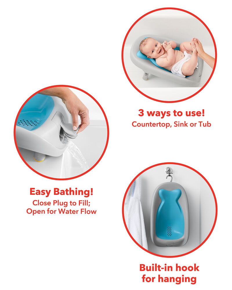 Moby Recline & Rinse Bather, , hi-res