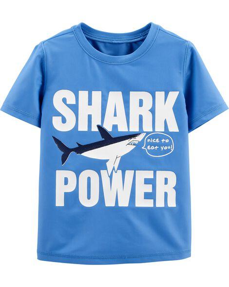 Osh Kosh Shark Rashguard by Oshkosh