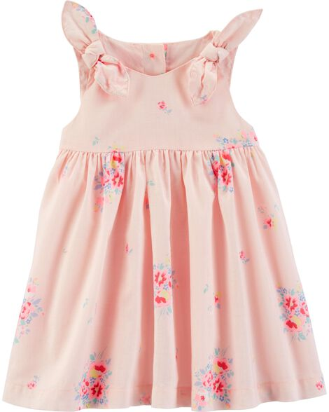 Floral Poplin Dress by Oshkosh