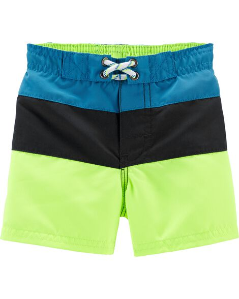 Osh Kosh Colorblock Swim Trunks by Oshkosh