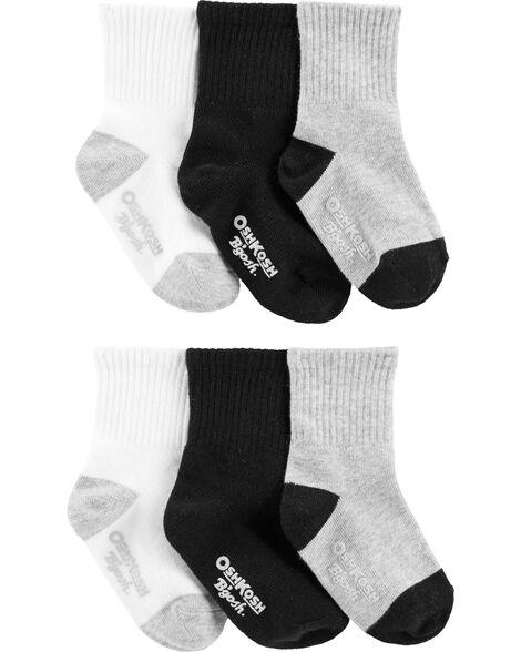 3 Pack Basic Crew Socks by Oshkosh