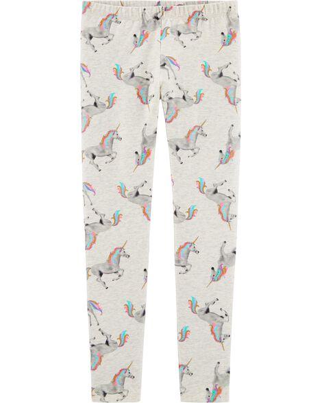 Unicorn Jersey Leggings by Oshkosh