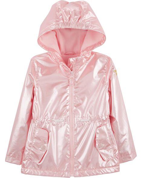 Pink Pearlescent Anorak Jacket by Oshkosh