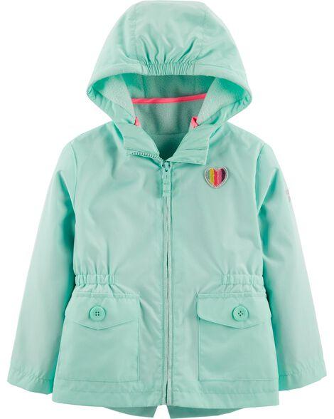 Rainbow Heart 4 In 1 Jacket by Oshkosh