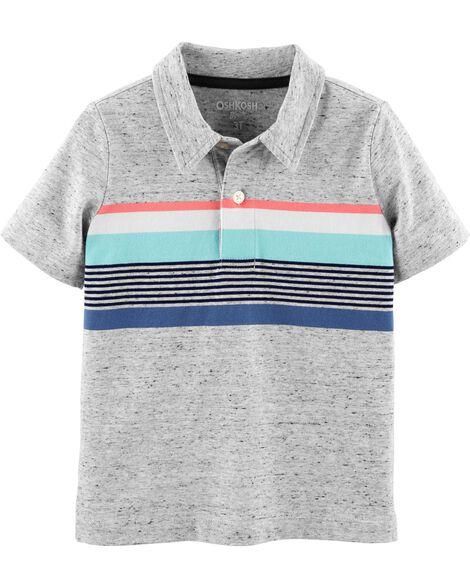 Striped Jersey Polo by Oshkosh