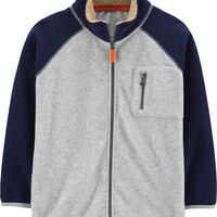 Carters Kid Zip-Up Fleece Jacket