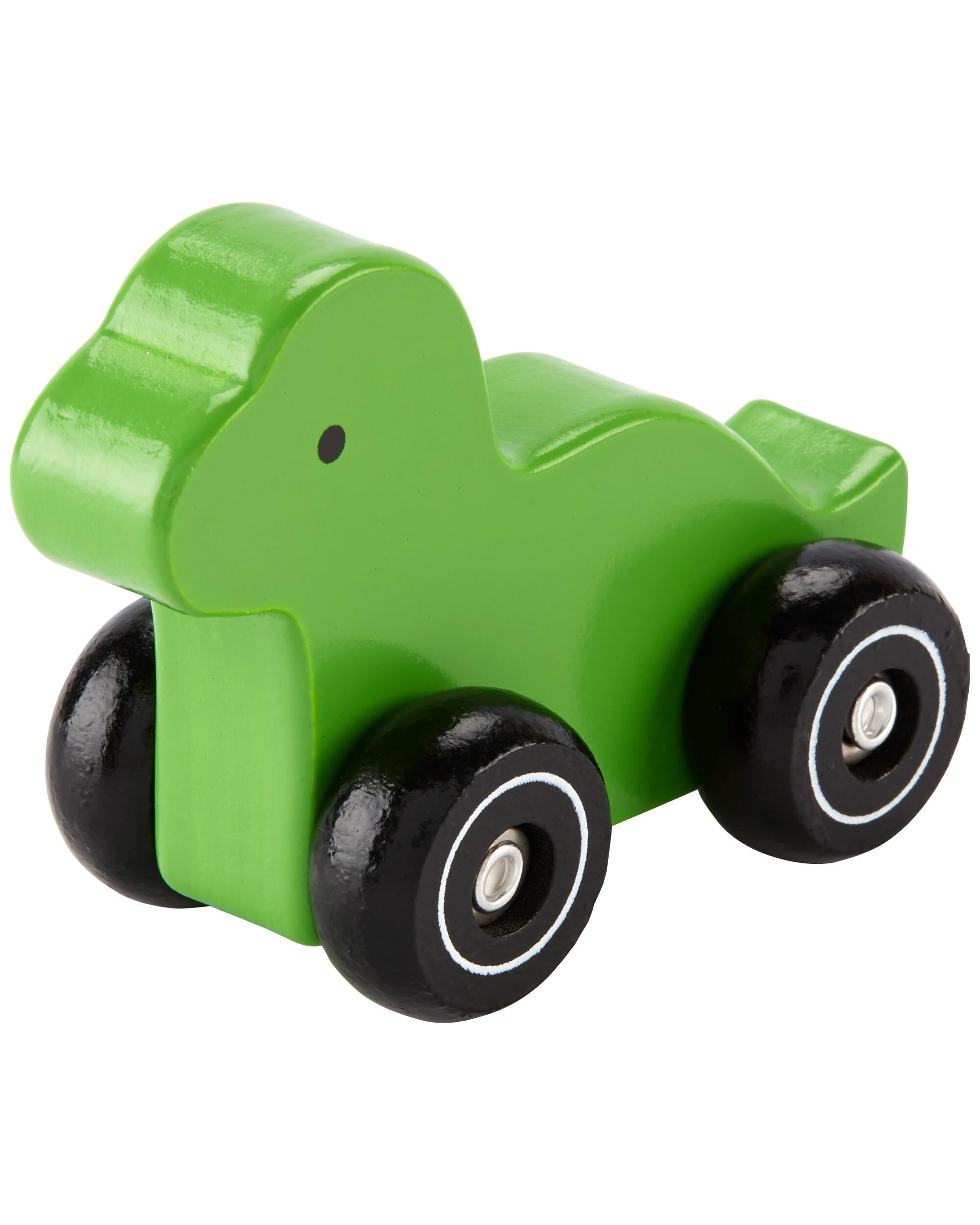 Oshkoshbgosh Dinosaur Wooden Car