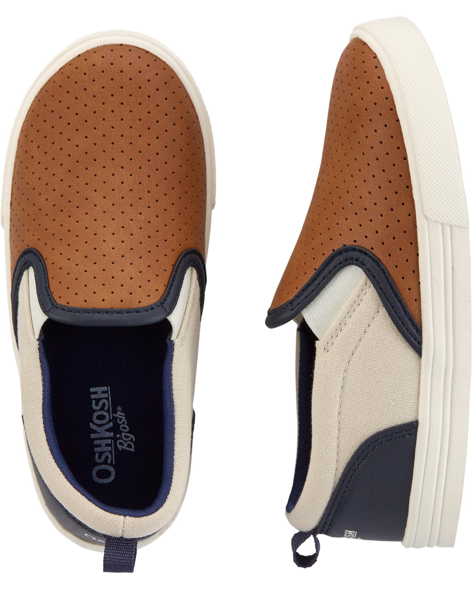 Oshkoshbgosh Colorblock Slip-On Shoes