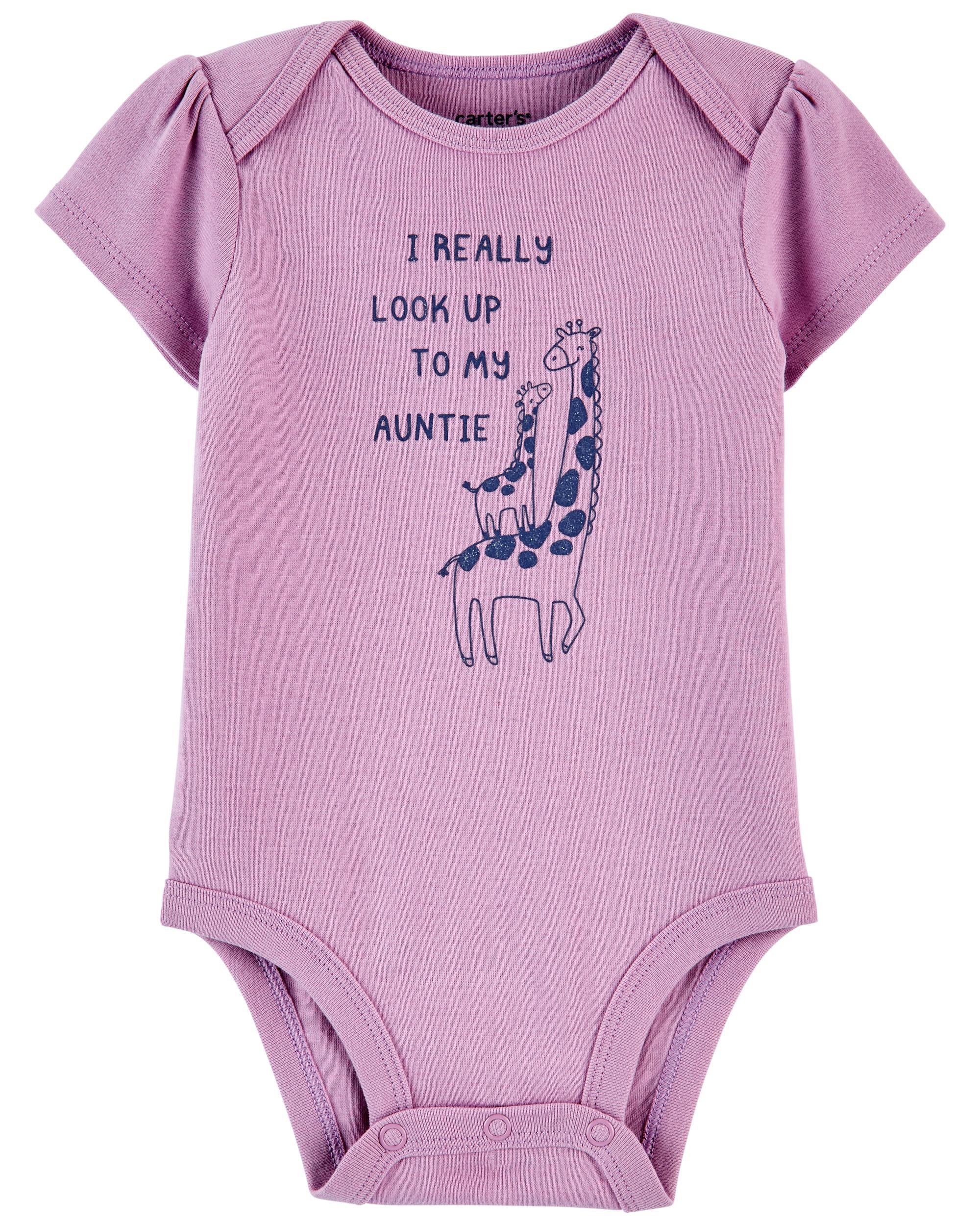 Oshkoshbgosh Giraffe Aunt Original Bodysuit