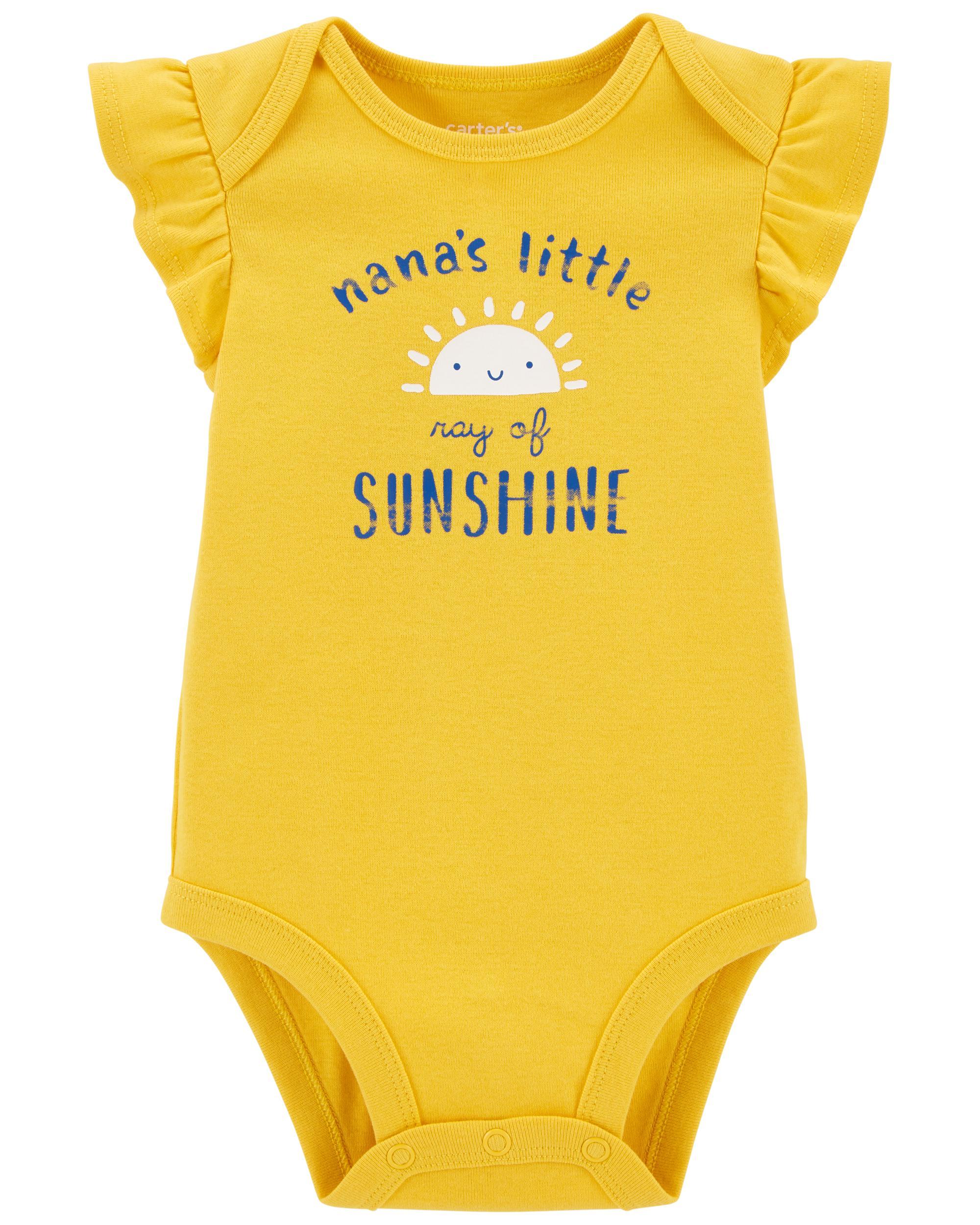 Oshkoshbgosh Nanas Sunshine Original Bodysuit