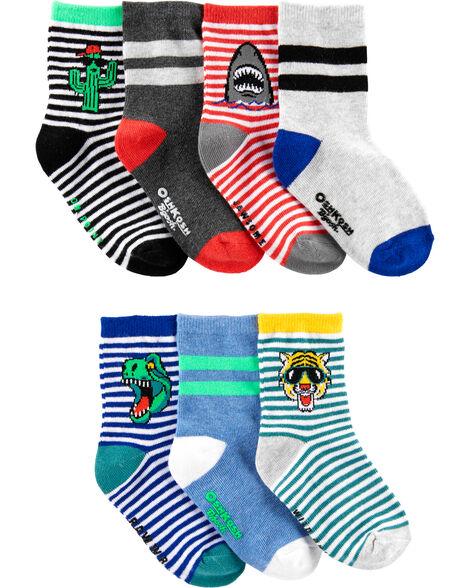 7 Pack Crew Socks by Oshkosh