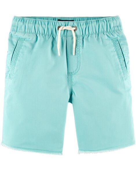 Pull On Raw Hem Shorts by Oshkosh