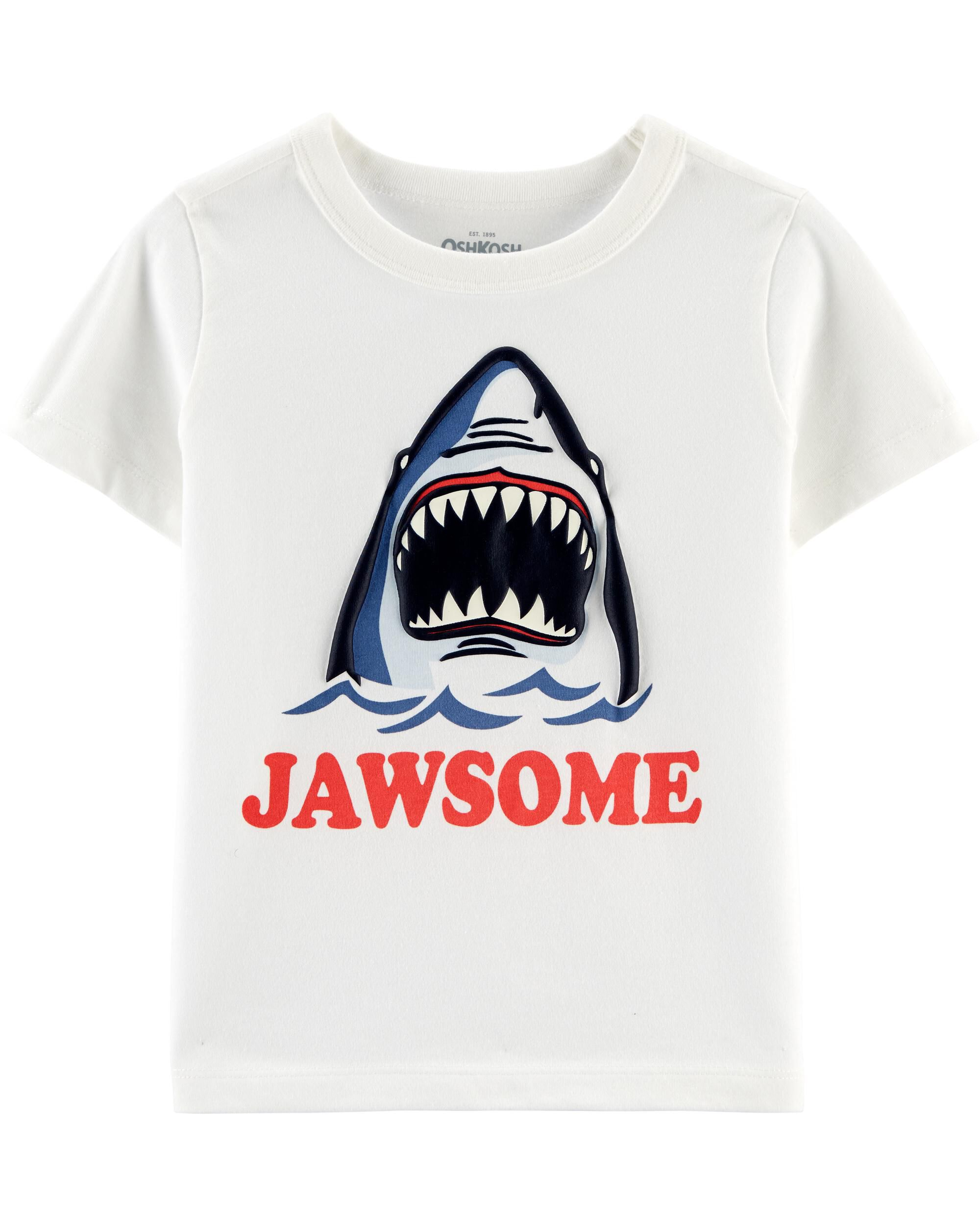 *Clearance*  Glow-in-the-Dark Shark Tee