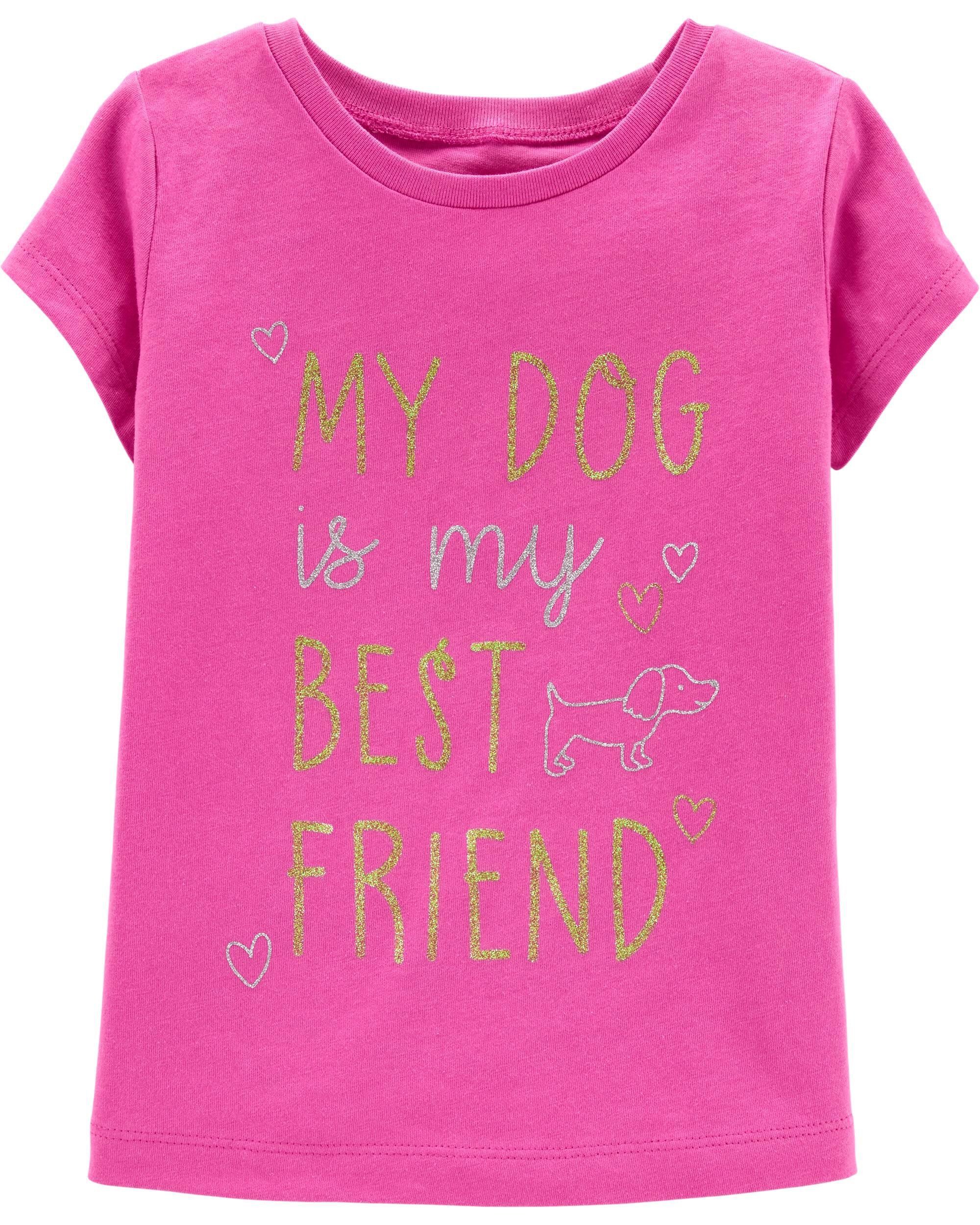 *Clearance*  My Dog Is My Best Friend Jersey Tee