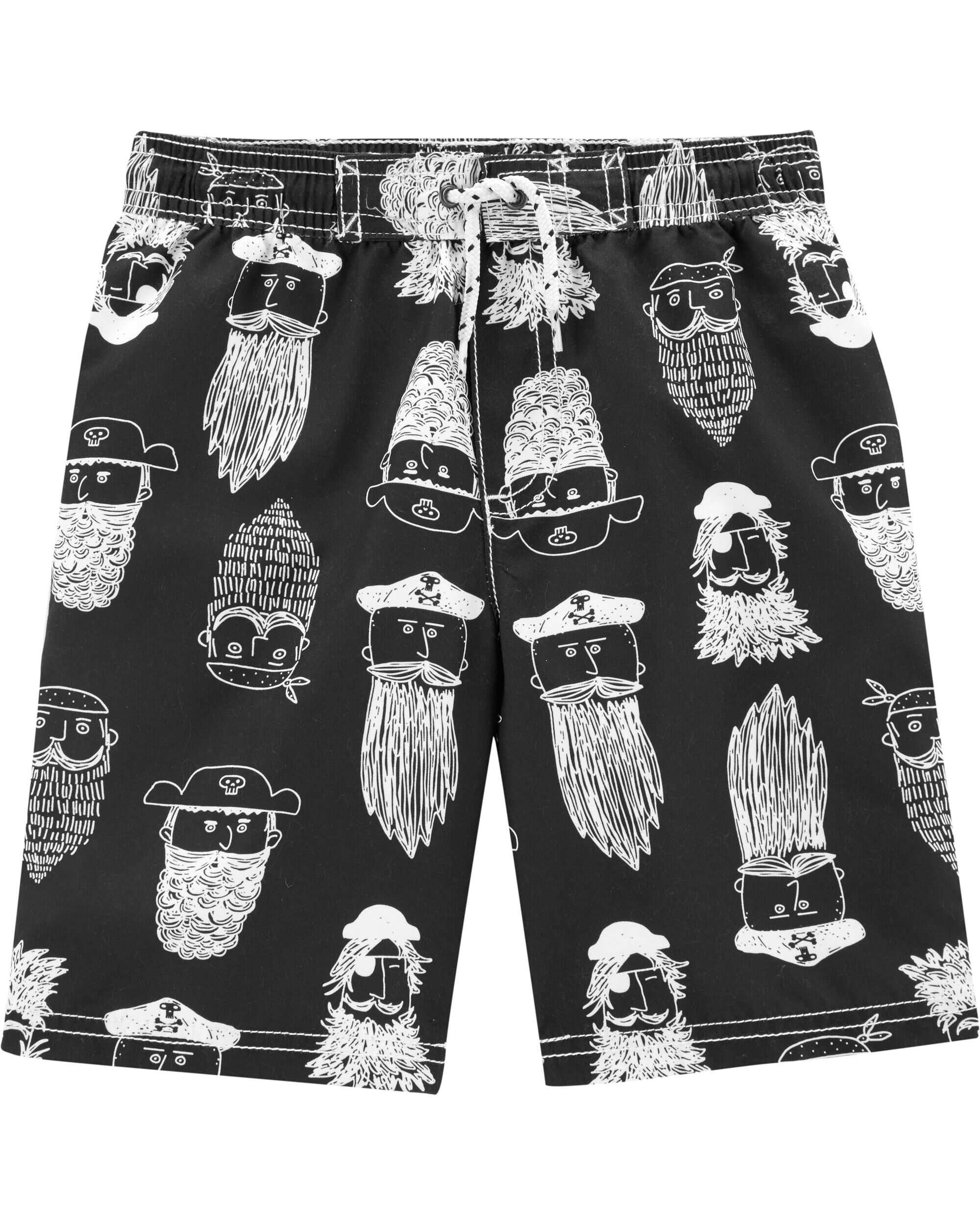 *Clearance*  Carter's Pirate Swim Trunks