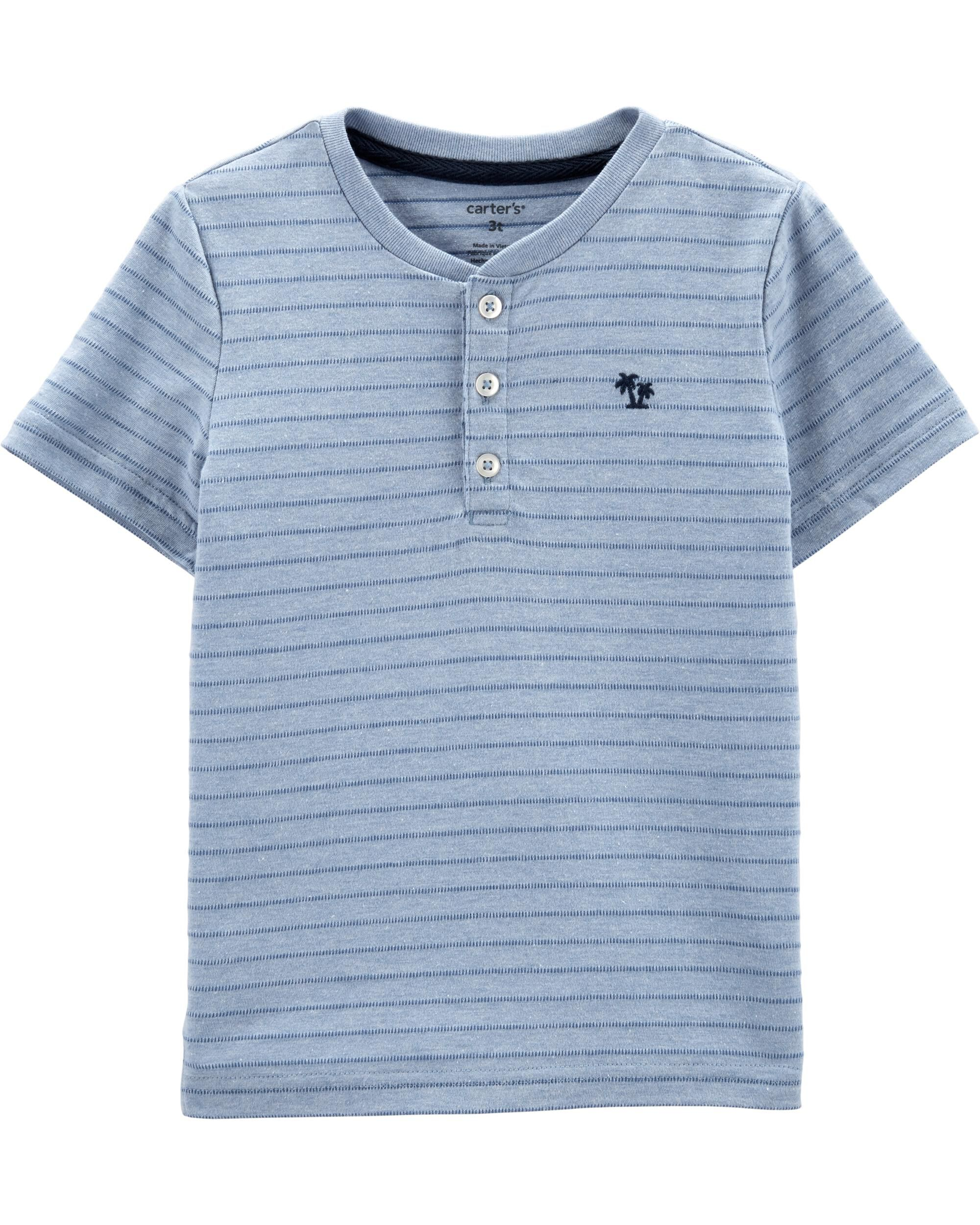*Clearance*  Pin Striped Henley
