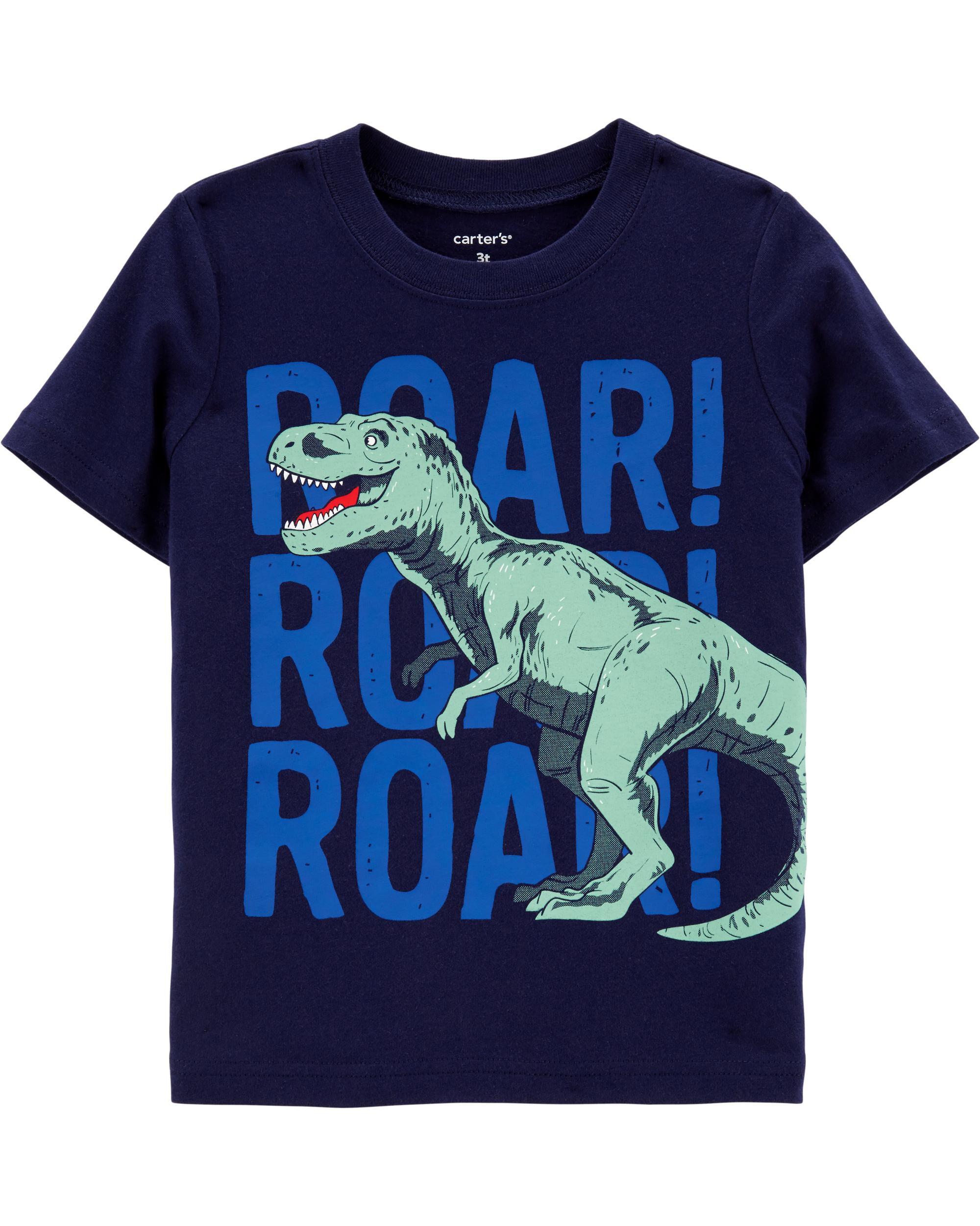 *Clearance*  T-Rex Roar Jersey Tee