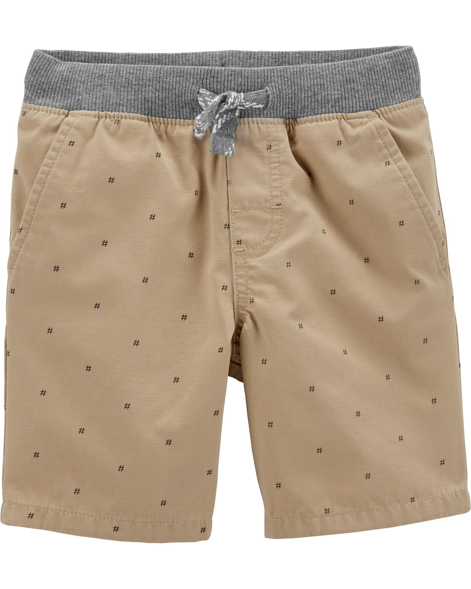 *Clearance*  Hashtag Easy Pull-On Dock Shorts