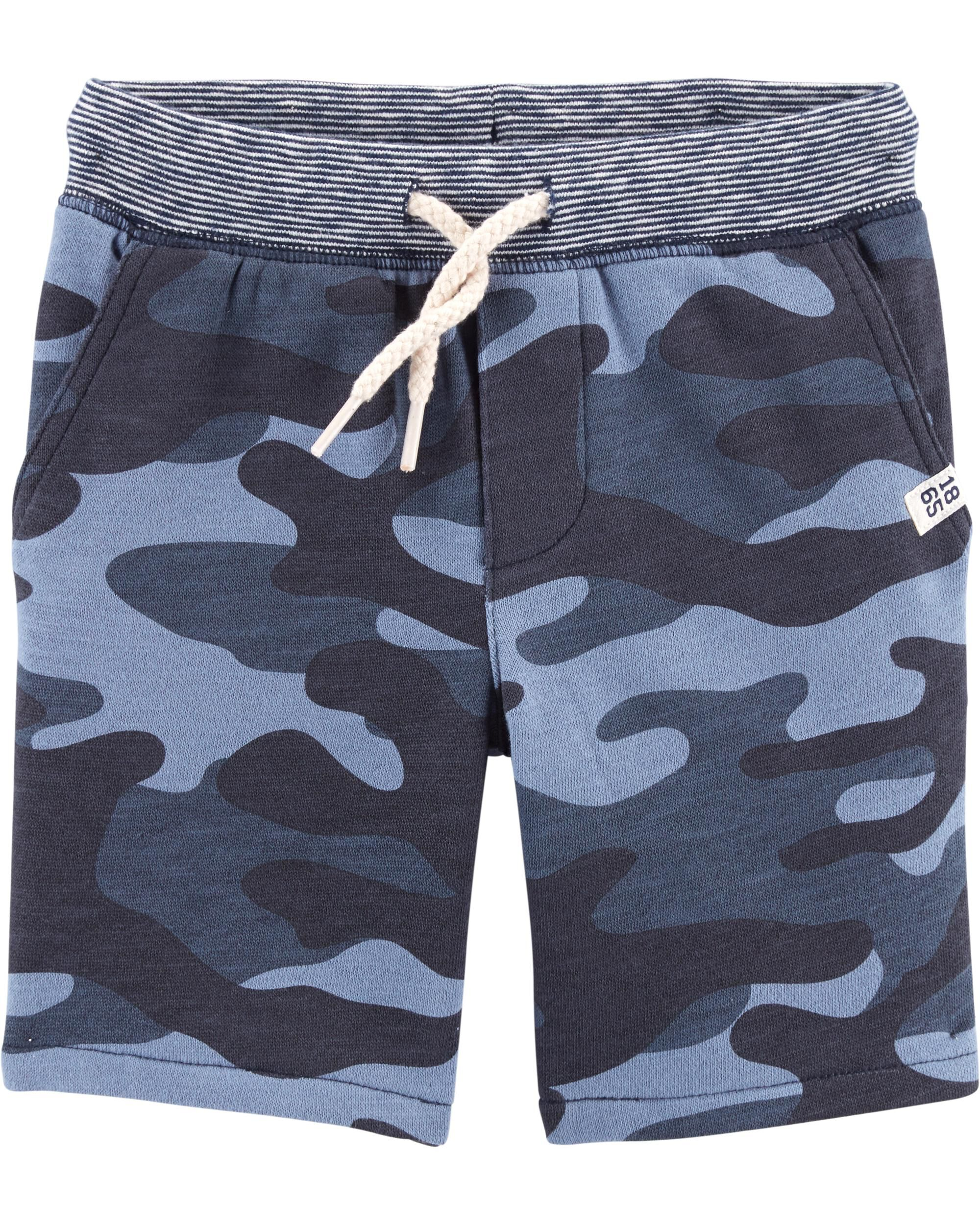 *Clearance*  Easy Pull-On French Terry Shorts