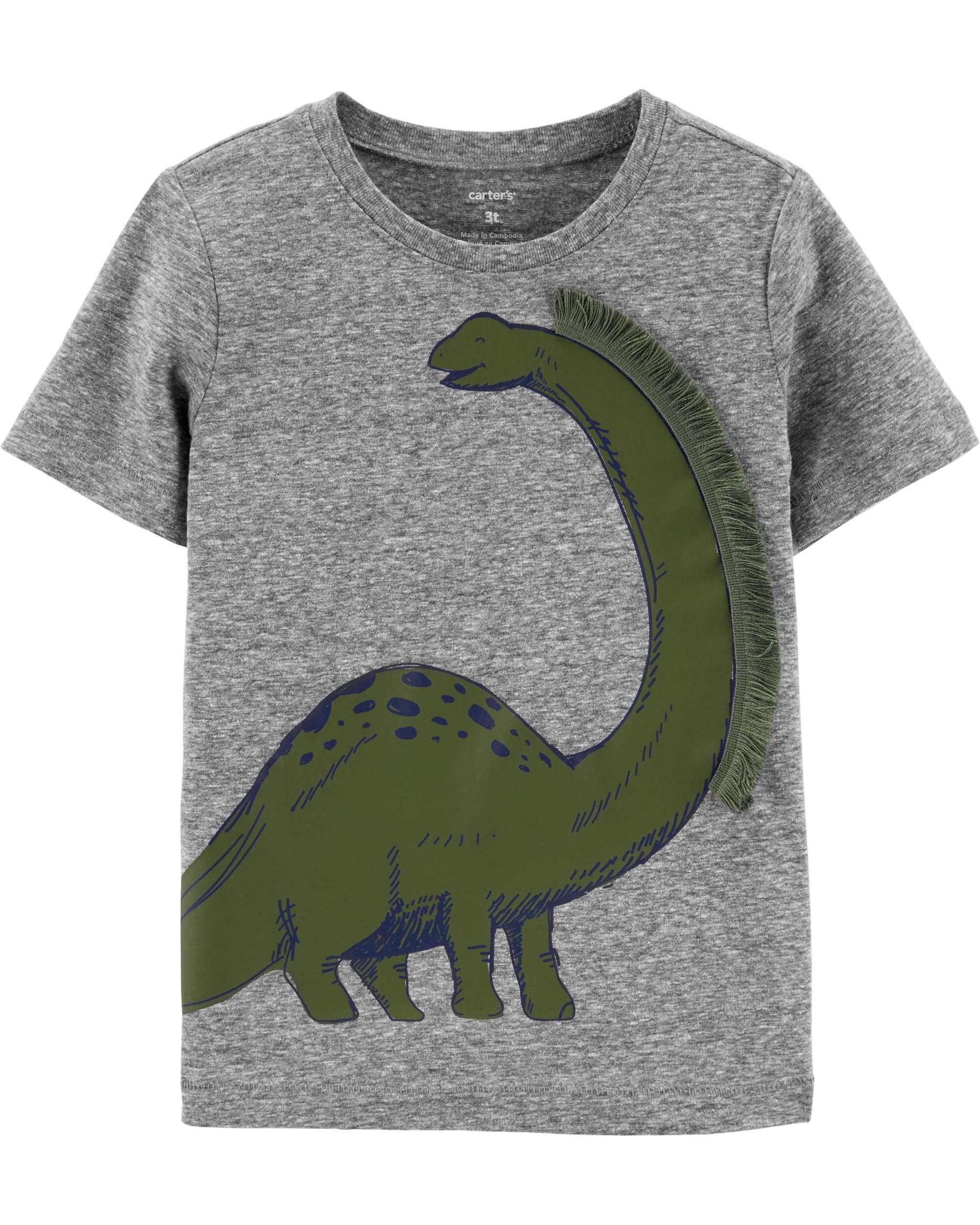 *Clearance*  Dinosaur Snow Yarn Jersey Tee