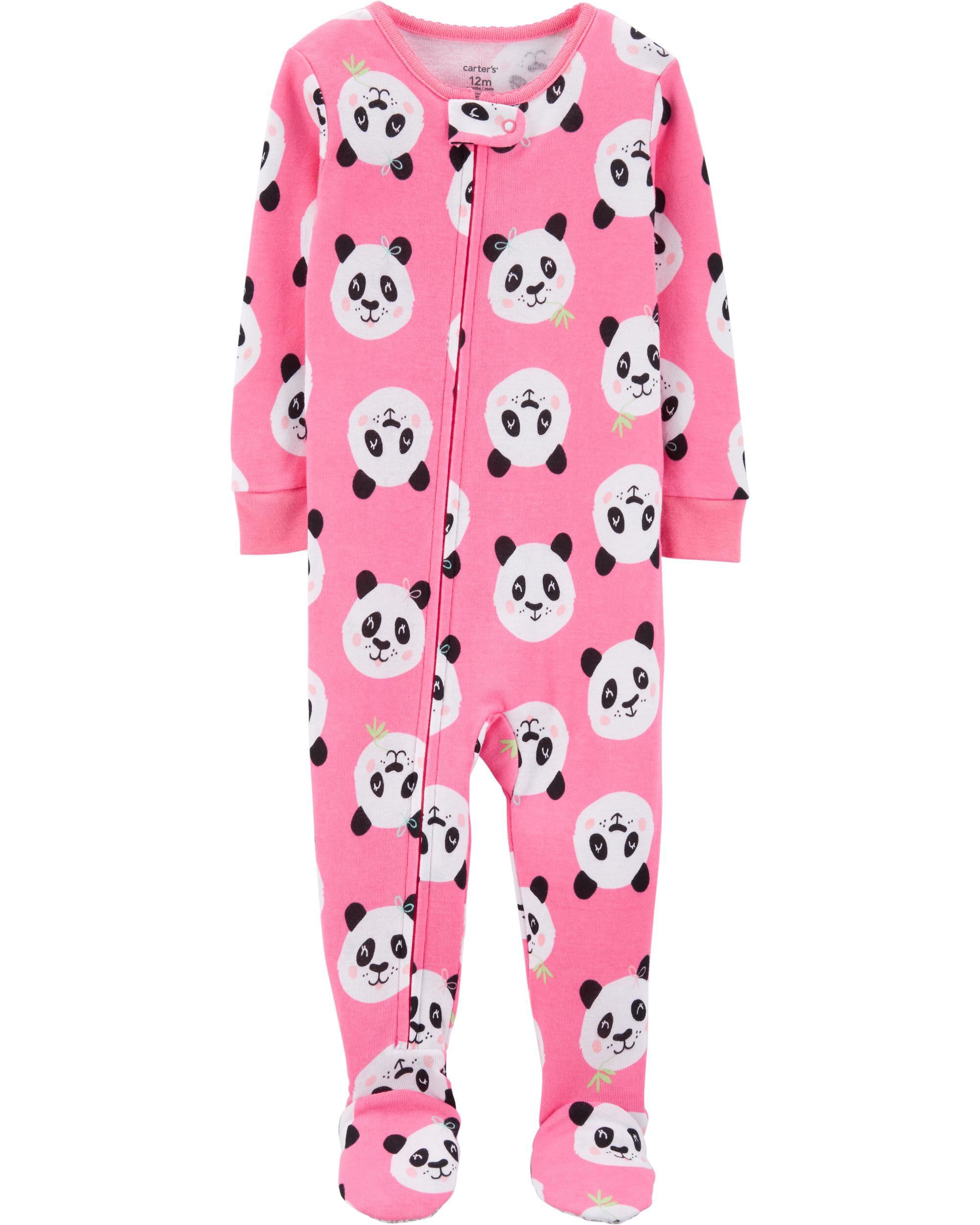 *Clearance*  1-Piece Panda Snug Fit Cotton Footi...