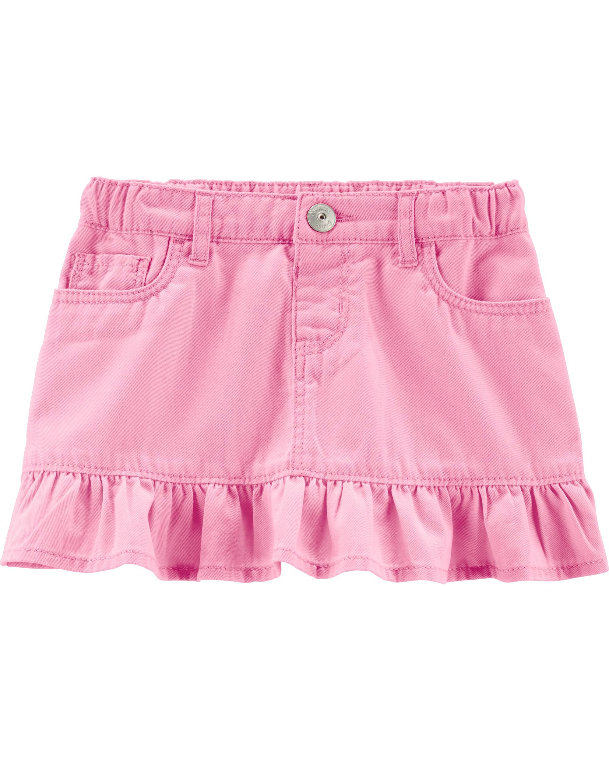 *Clearance*  Pink Ruffle Skirt