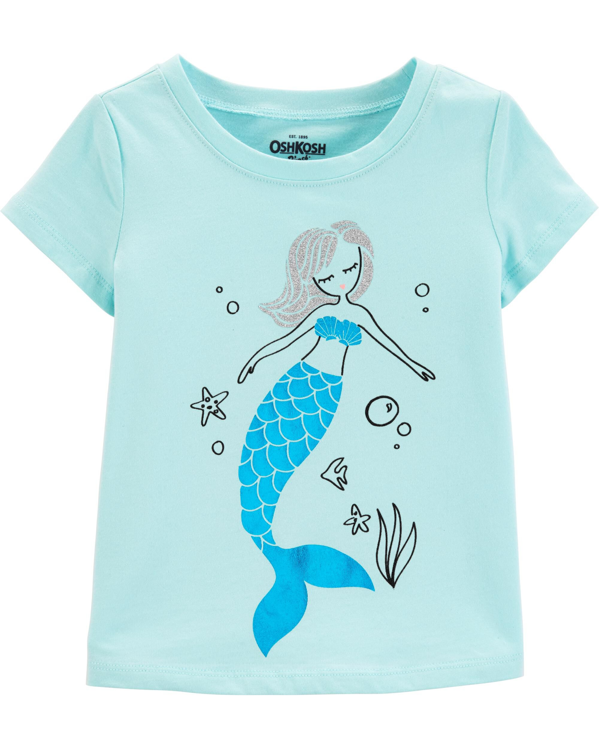 *Clearance*  Glitter Mermaid Tee