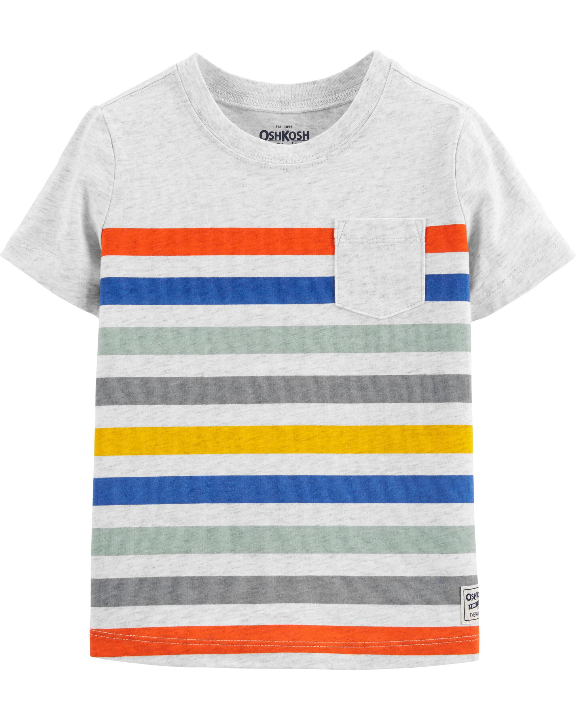 *Clearance*  Striped Pocket Tee