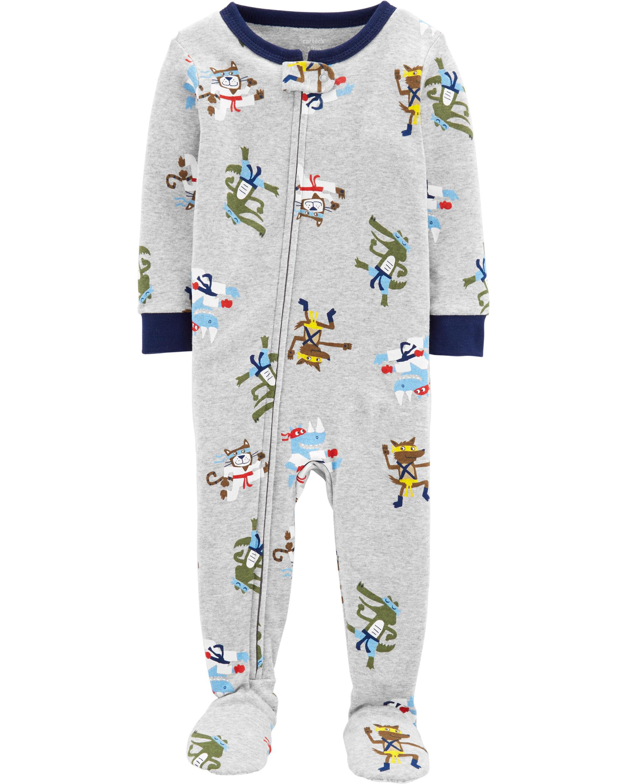 *Clearance*  1-Piece Ninja Snug Fit Cotton Footi...