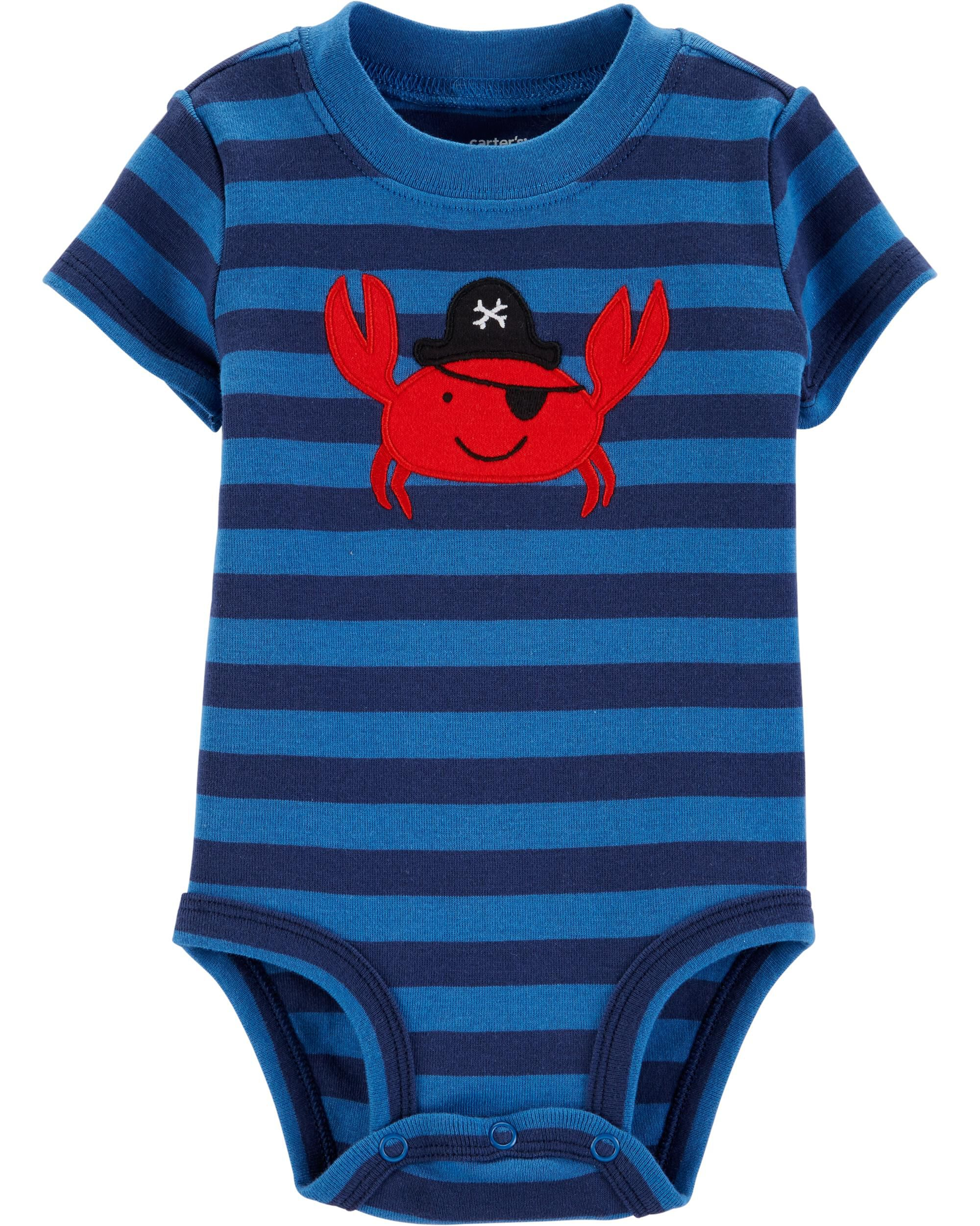 *Clearance*  Pirate Crab Collectible Bodysuit