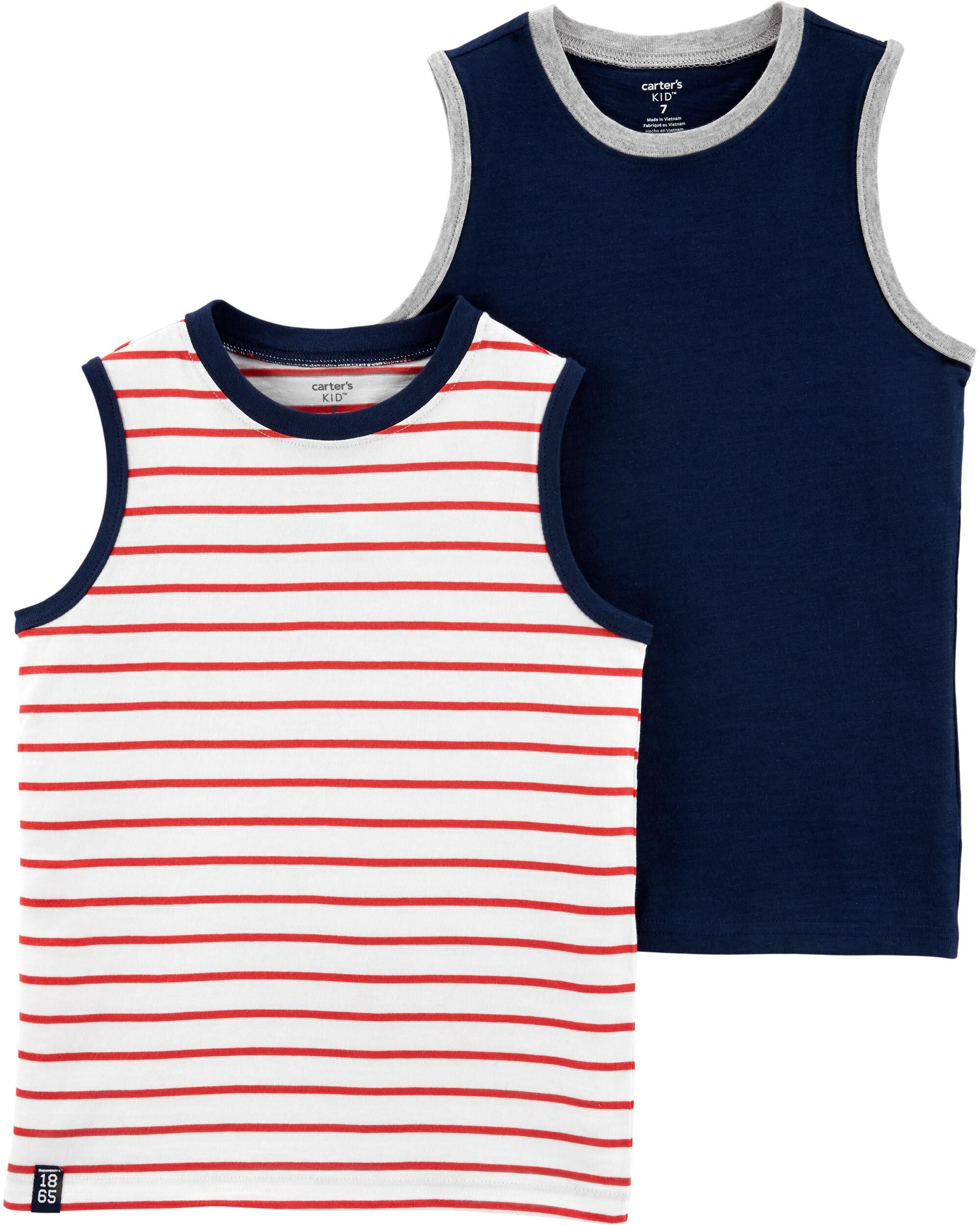 *Clearance*  2-Pack Jersey Tanks
