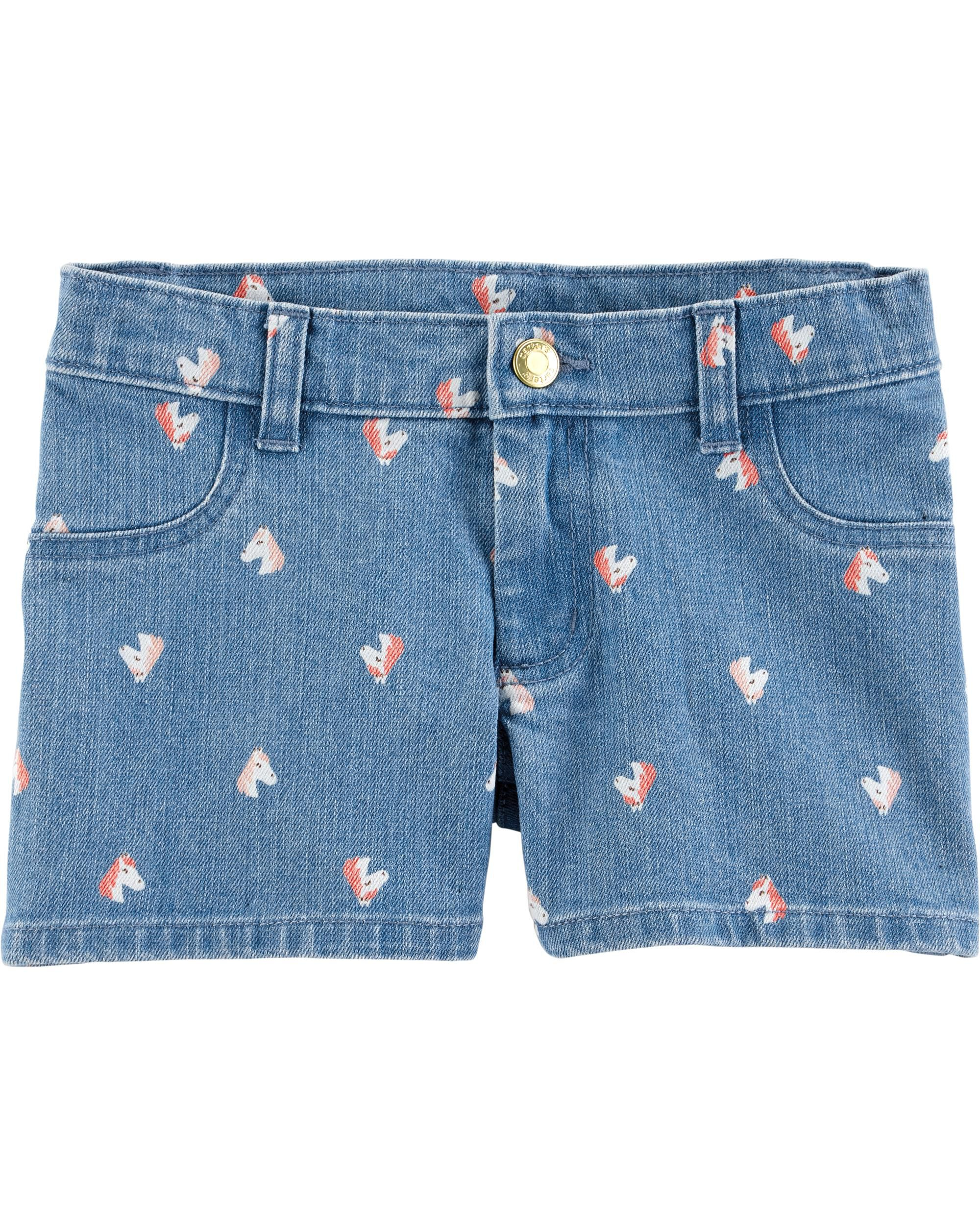 *Clearance*  Horse Denim Shorts