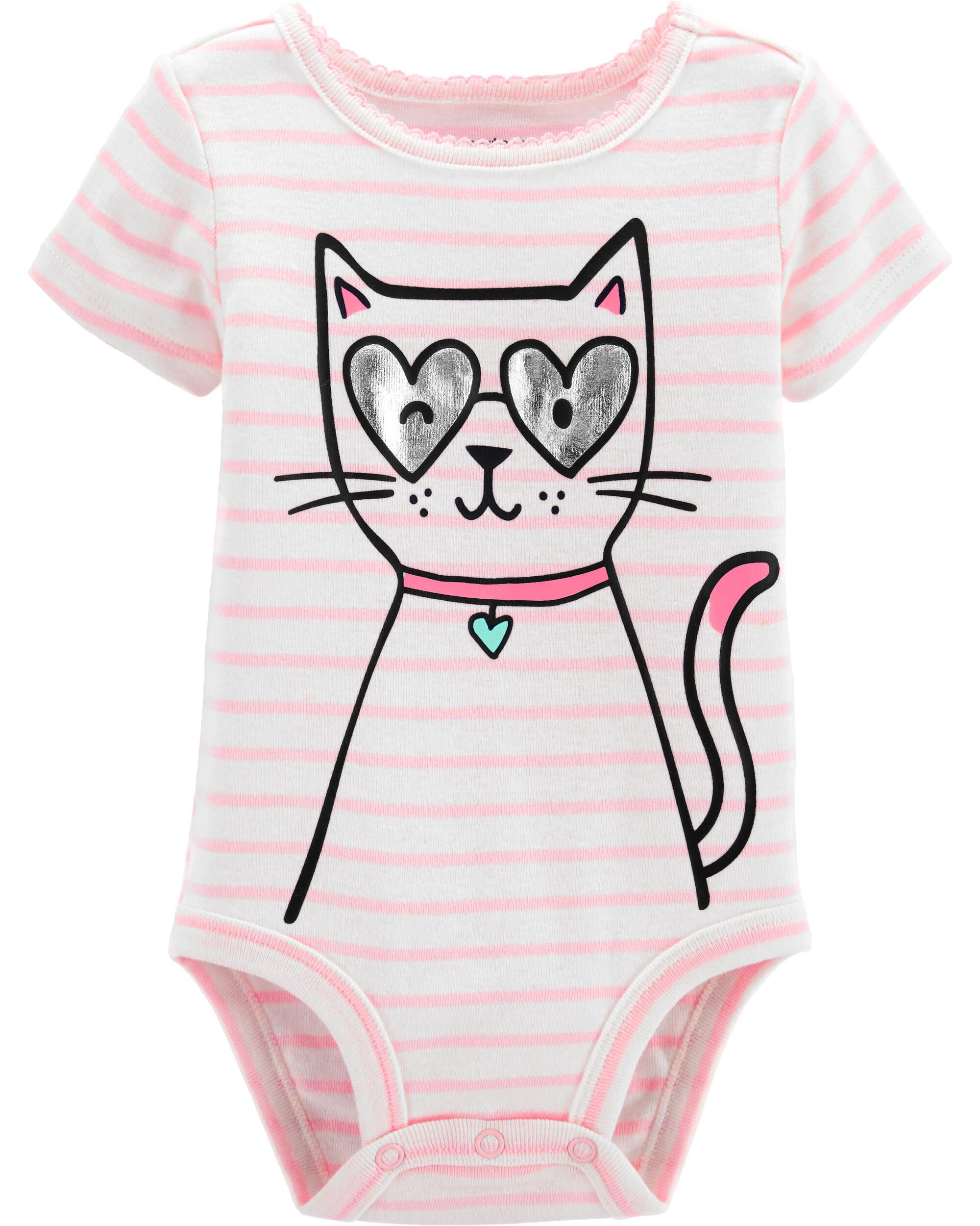 *Clearance*  Cat Collectible Bodysuit