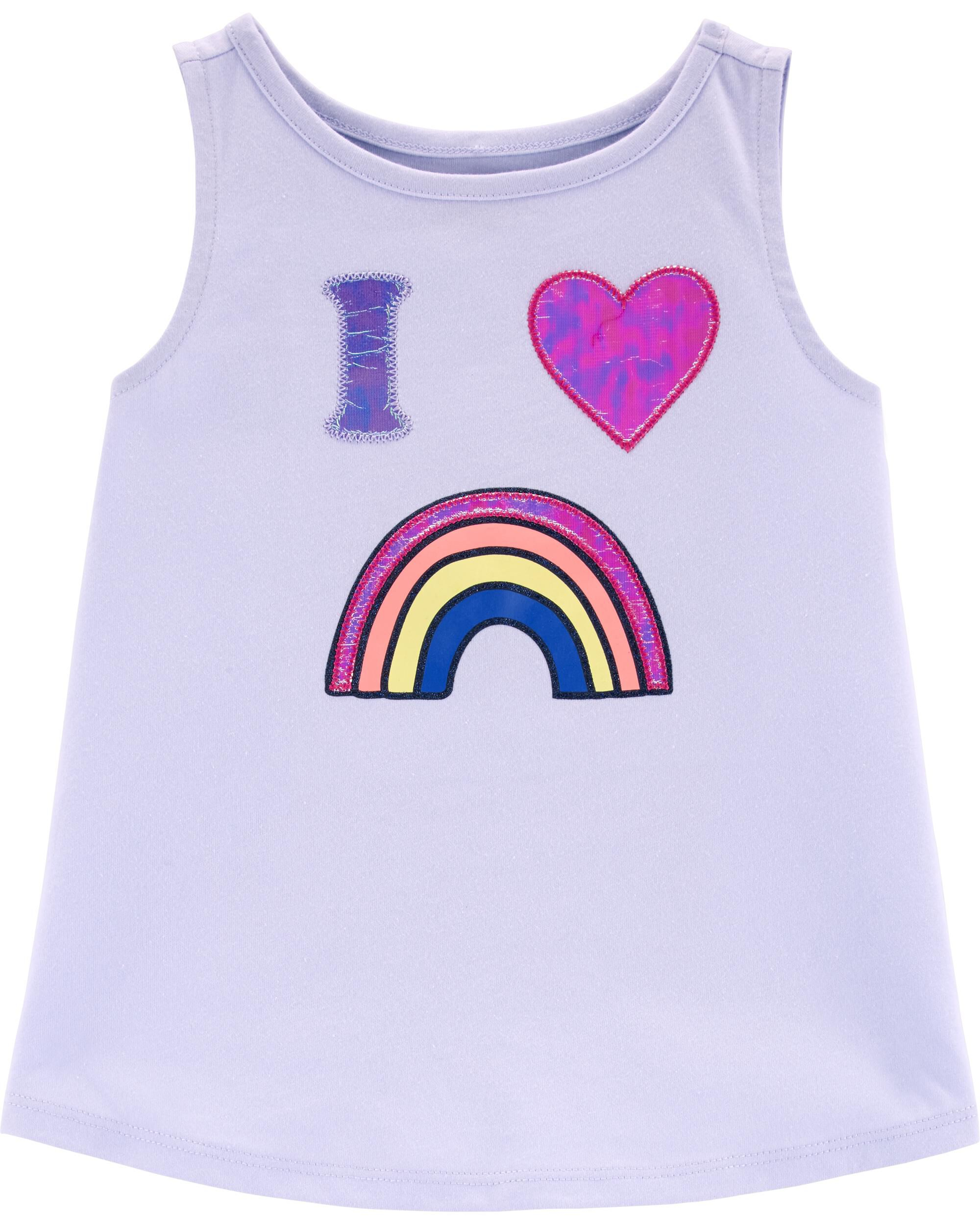 *Clearance*  Rainbow Holographic Tank