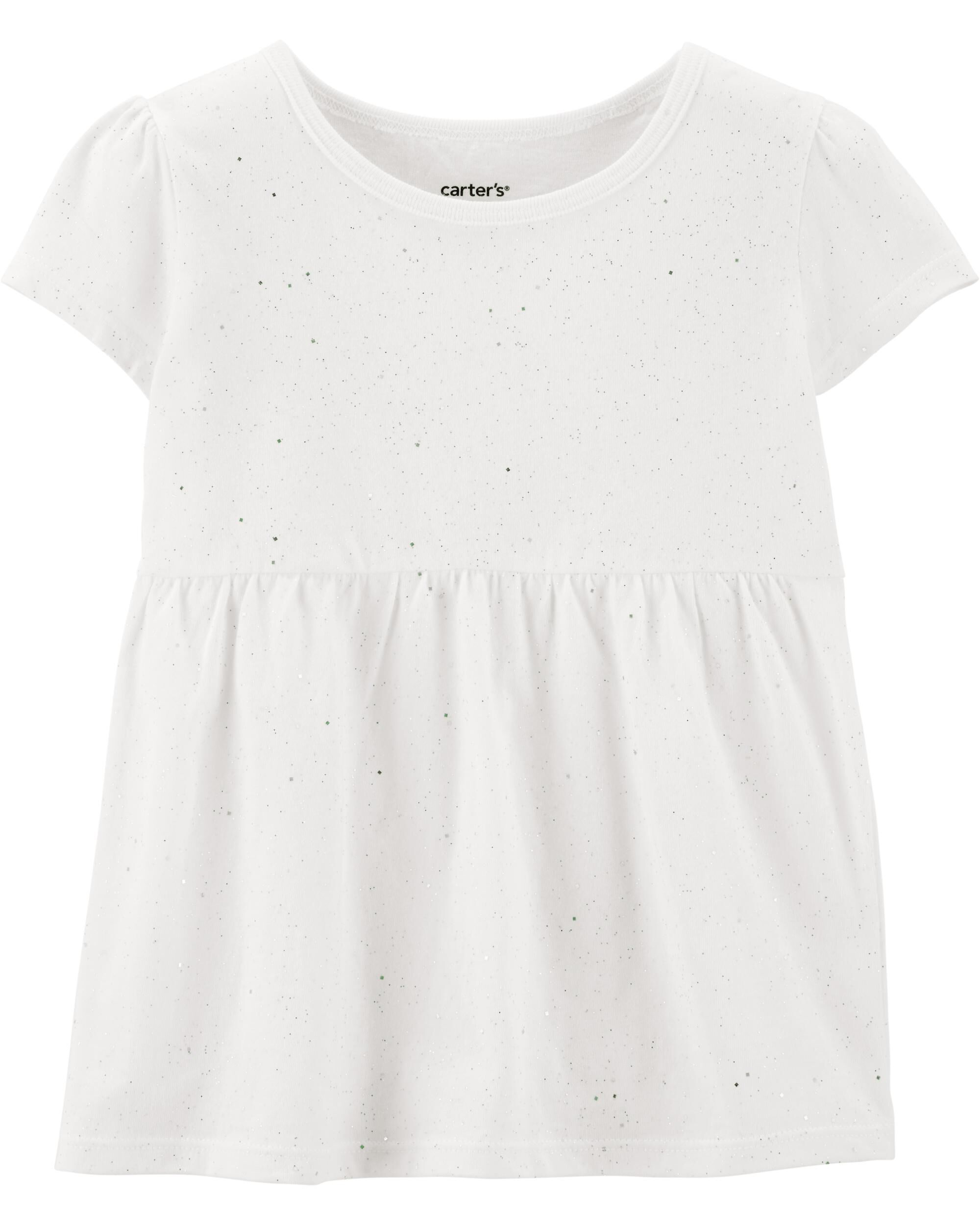 *Clearance*  Sparkly Jersey Top