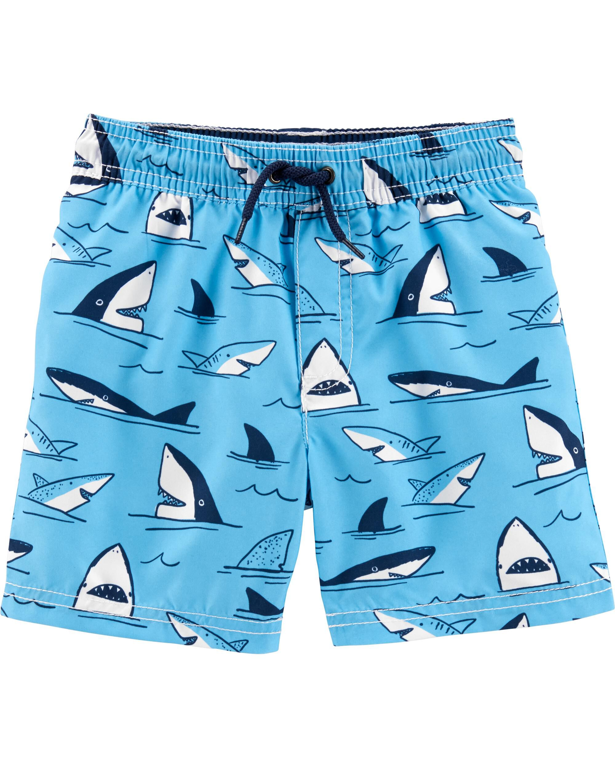*Clearance*  Carter's Shark Swim Trunks