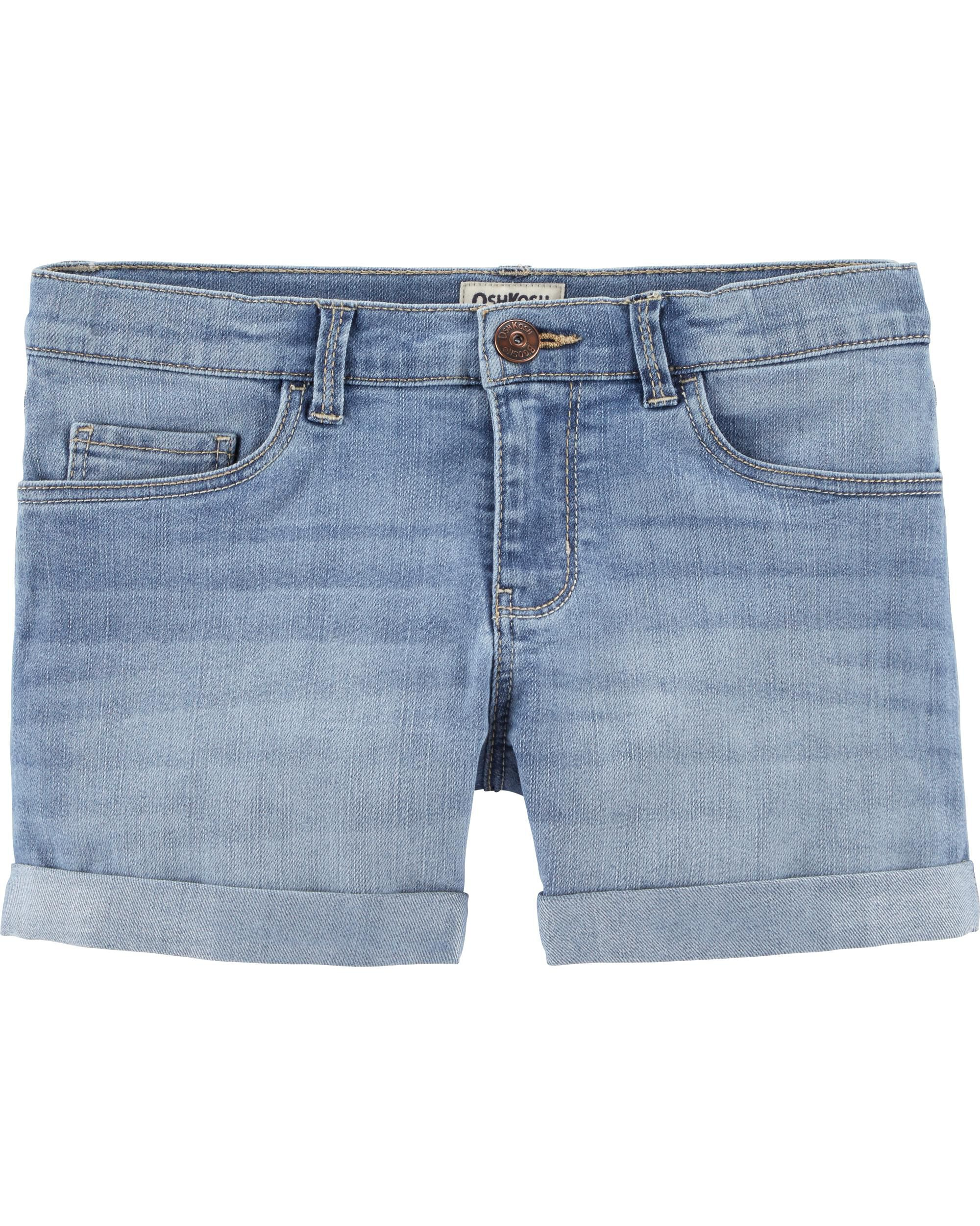 *Clearance*  Denim Shorts - Sky Blue Wash